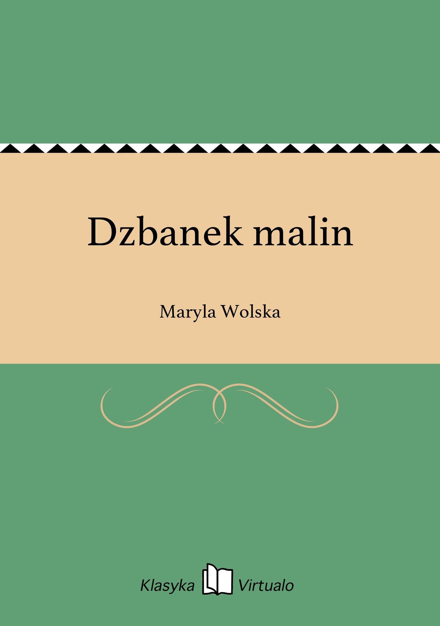 Dzbanek malin - Ebook (Książka EPUB) do pobrania w formacie EPUB