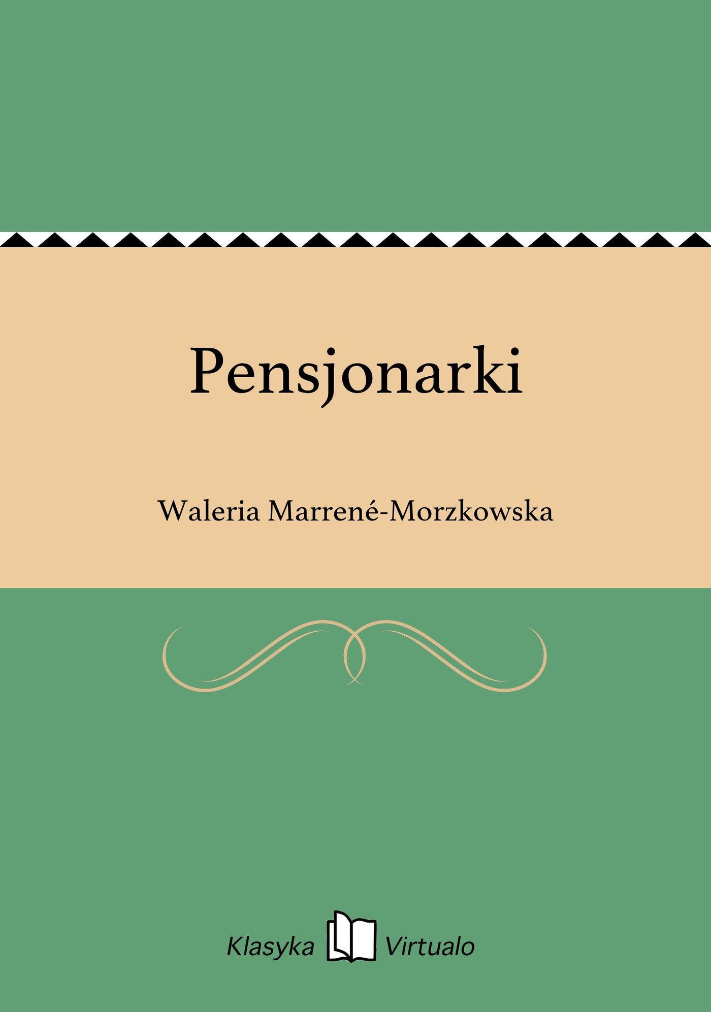 Pensjonarki - Ebook (Książka EPUB) do pobrania w formacie EPUB