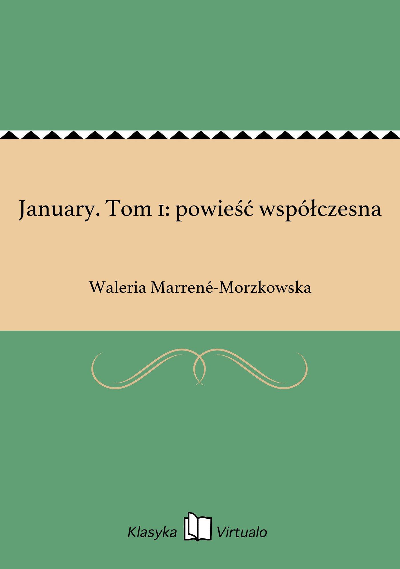 January. Tom 1: powieść współczesna - Ebook (Książka EPUB) do pobrania w formacie EPUB