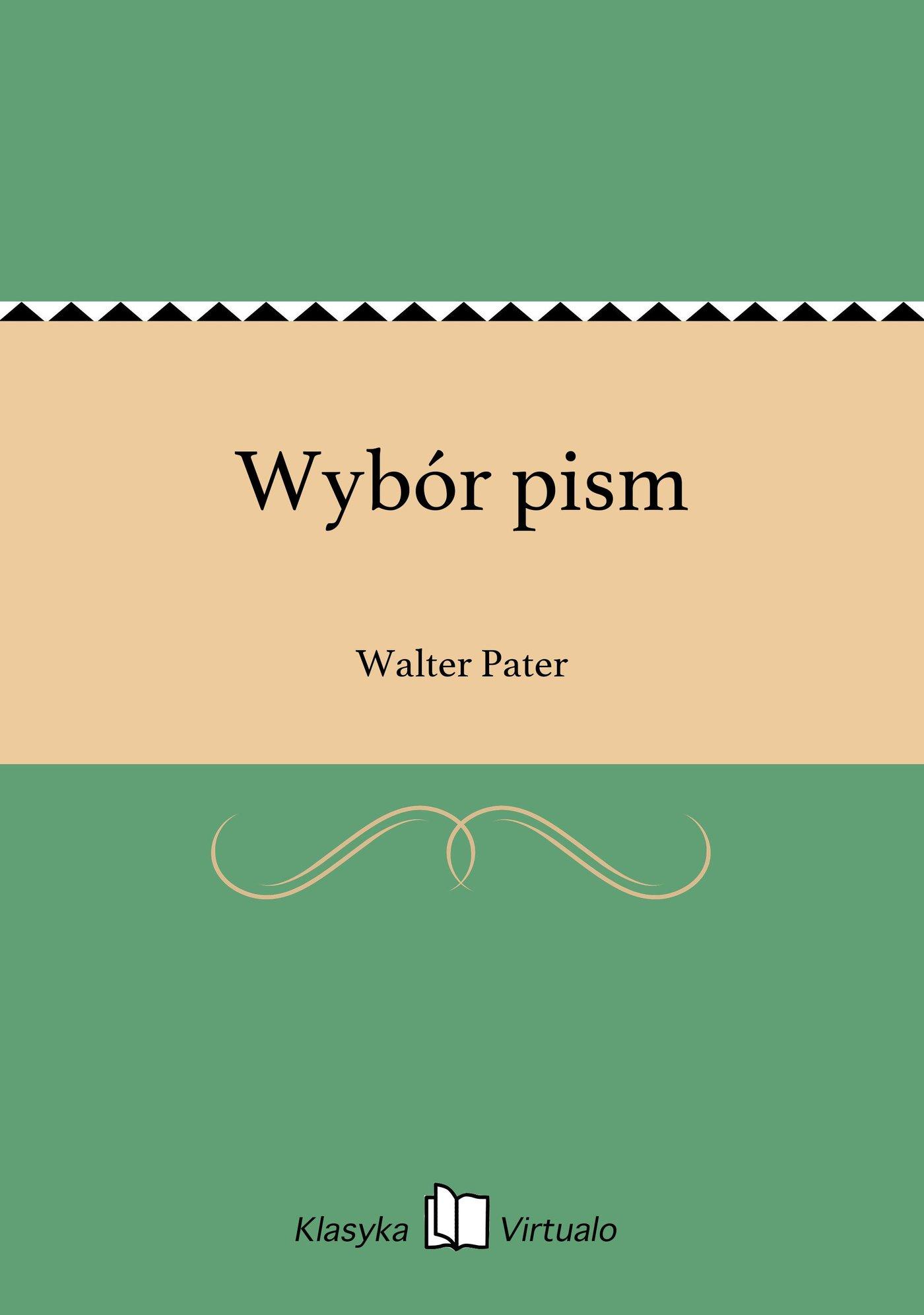 Wybór pism - Ebook (Książka EPUB) do pobrania w formacie EPUB