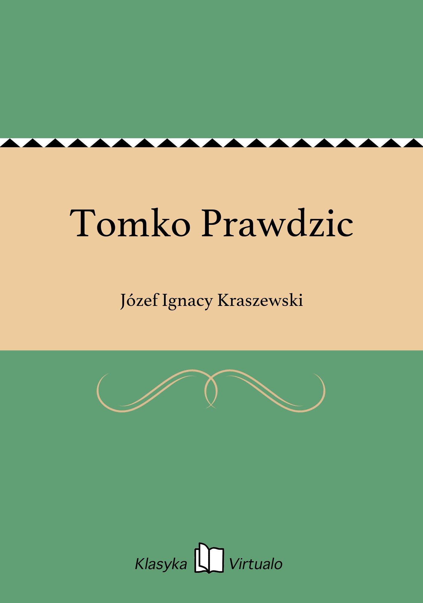 Tomko Prawdzic - Ebook (Książka EPUB) do pobrania w formacie EPUB