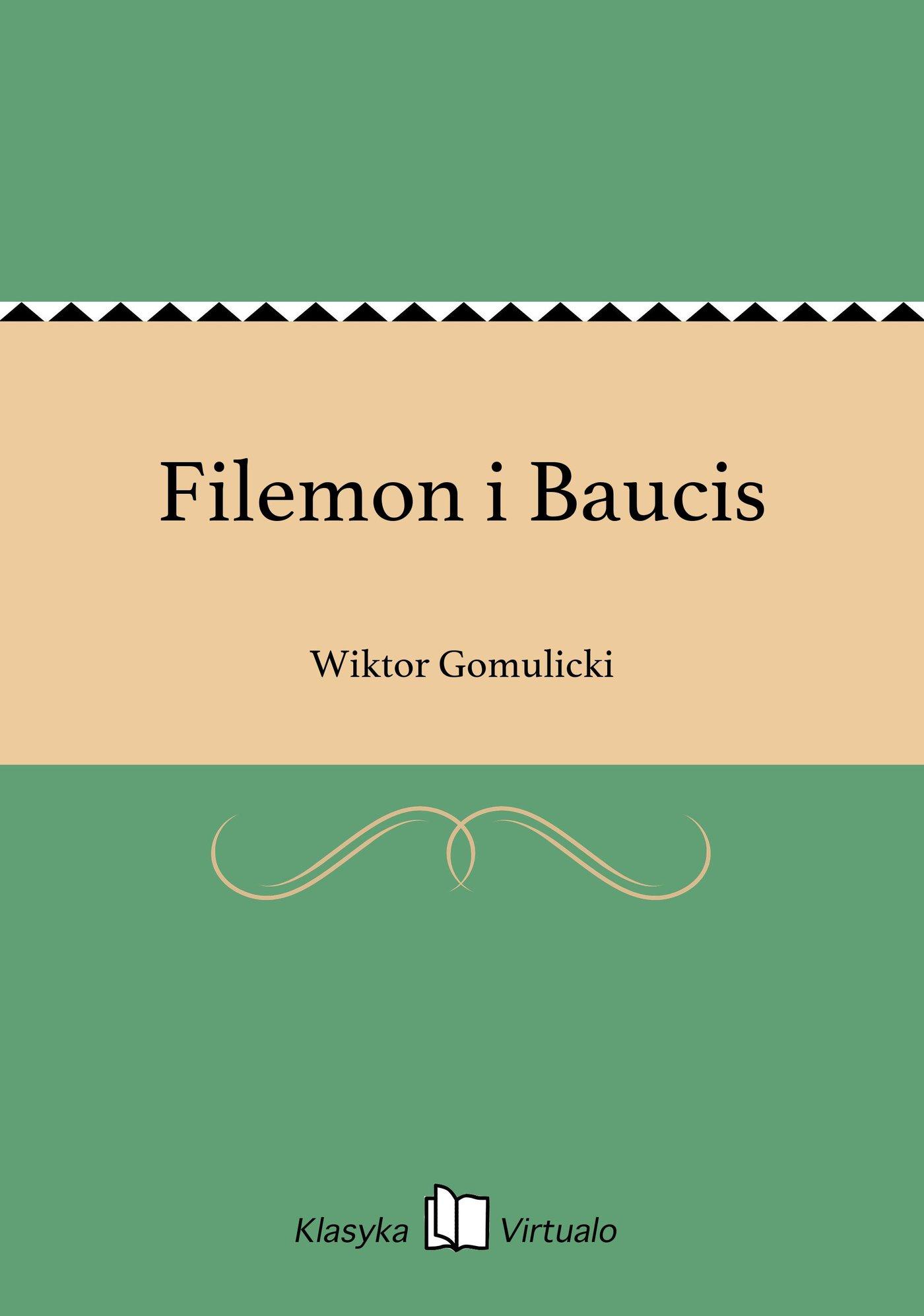 Filemon i Baucis - Ebook (Książka EPUB) do pobrania w formacie EPUB