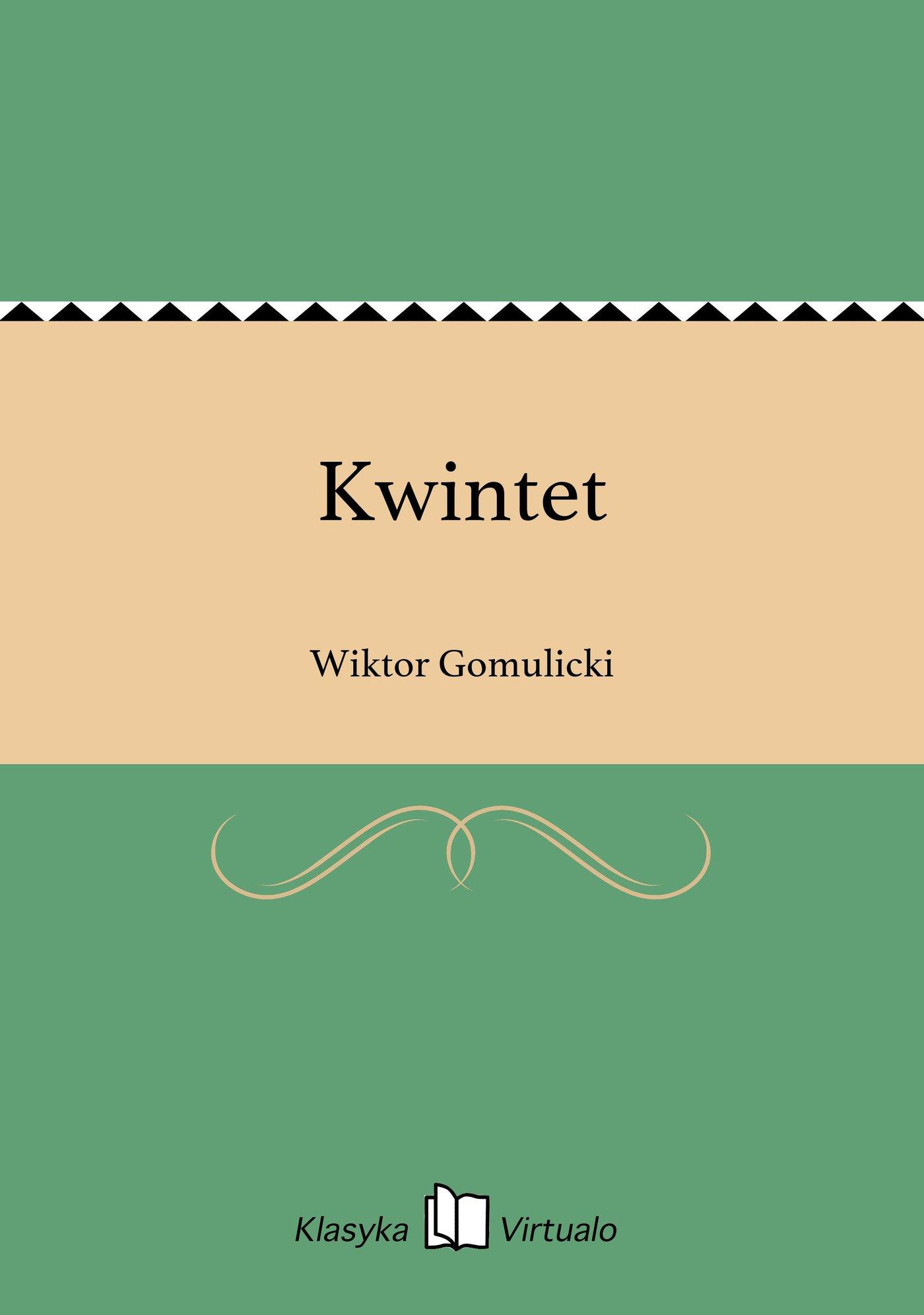 Kwintet - Ebook (Książka EPUB) do pobrania w formacie EPUB