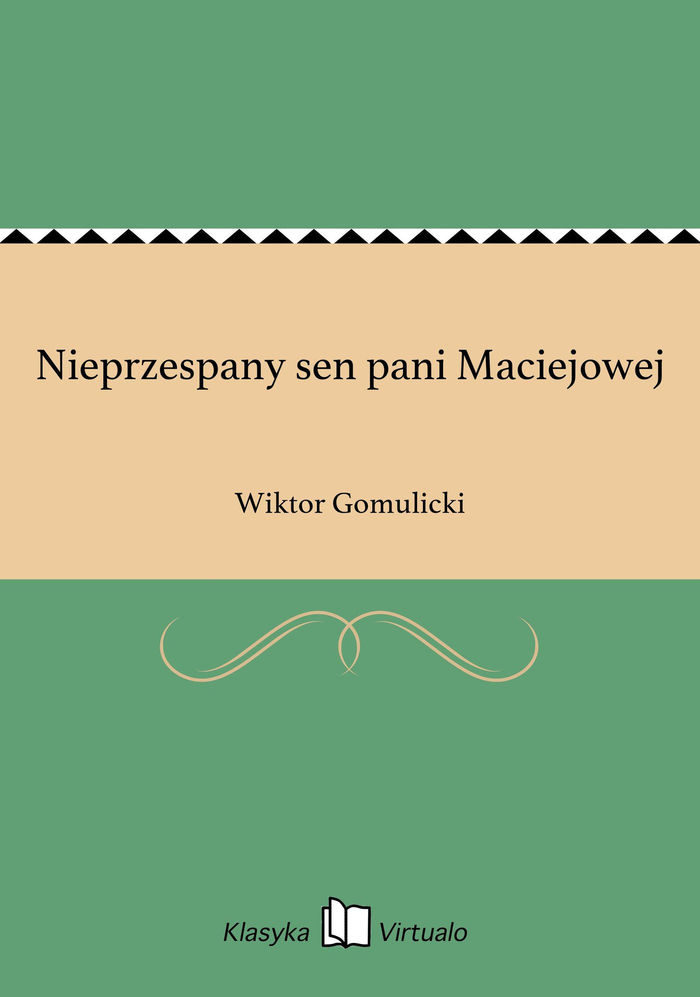 Nieprzespany sen pani Maciejowej - Ebook (Książka EPUB) do pobrania w formacie EPUB