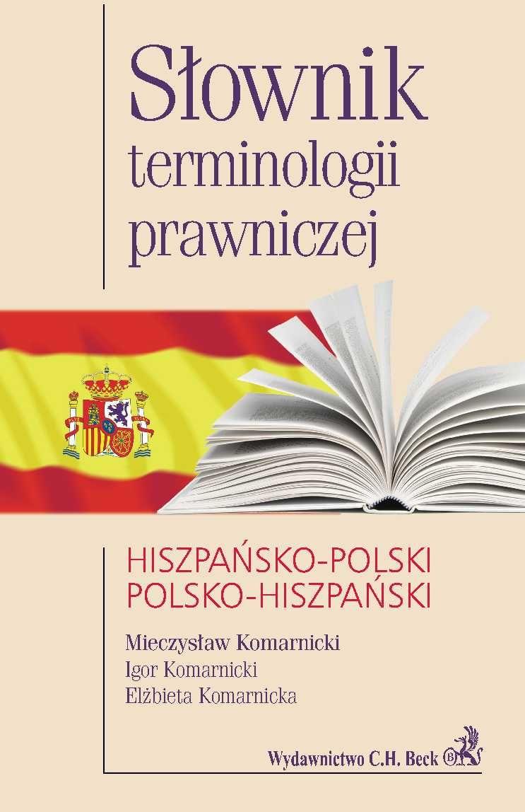 Słownik terminologii prawniczej hiszpańsko-polski polsko-hiszpański - Ebook (Książka PDF) do pobrania w formacie PDF