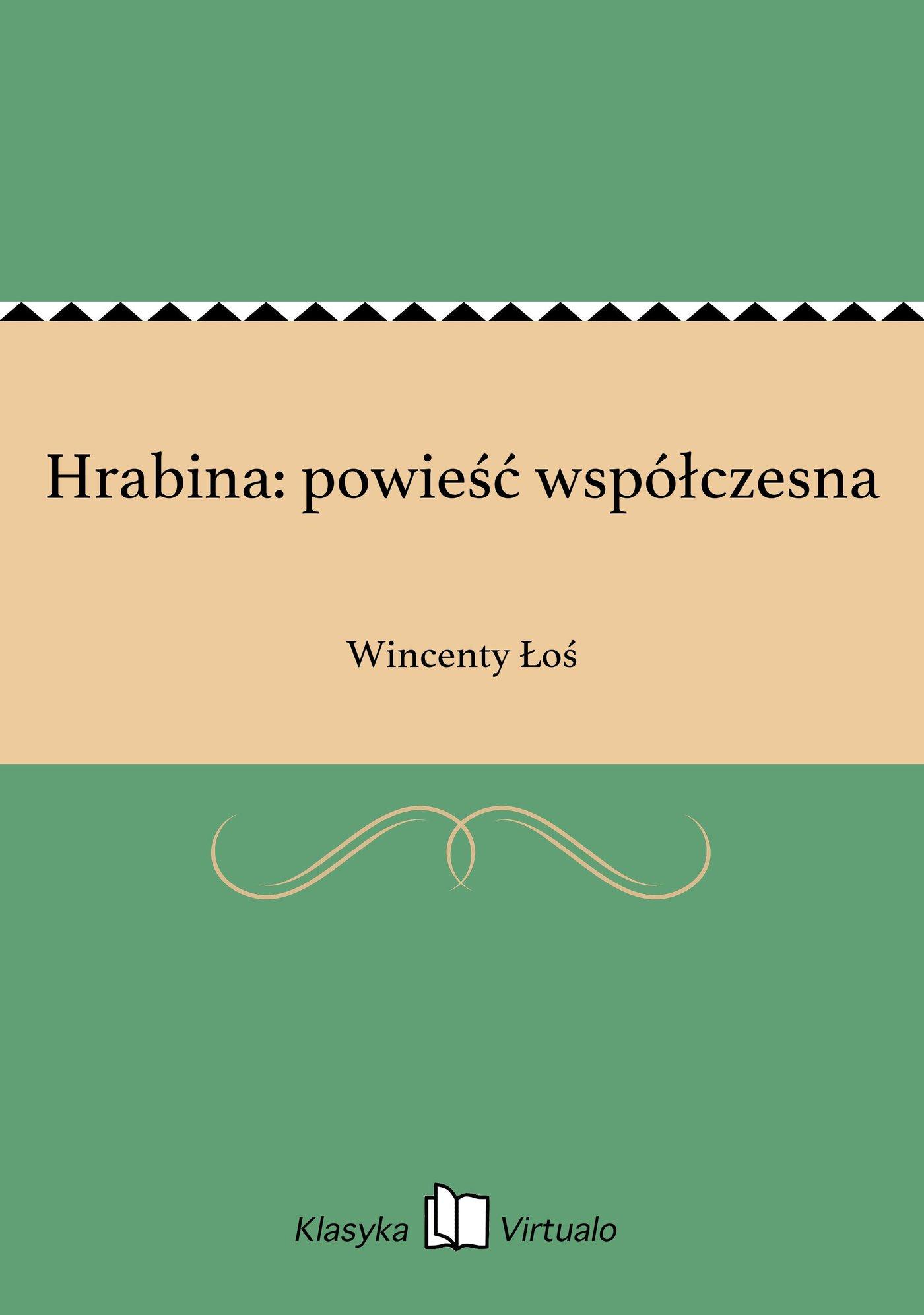 Hrabina: powieść współczesna - Ebook (Książka EPUB) do pobrania w formacie EPUB