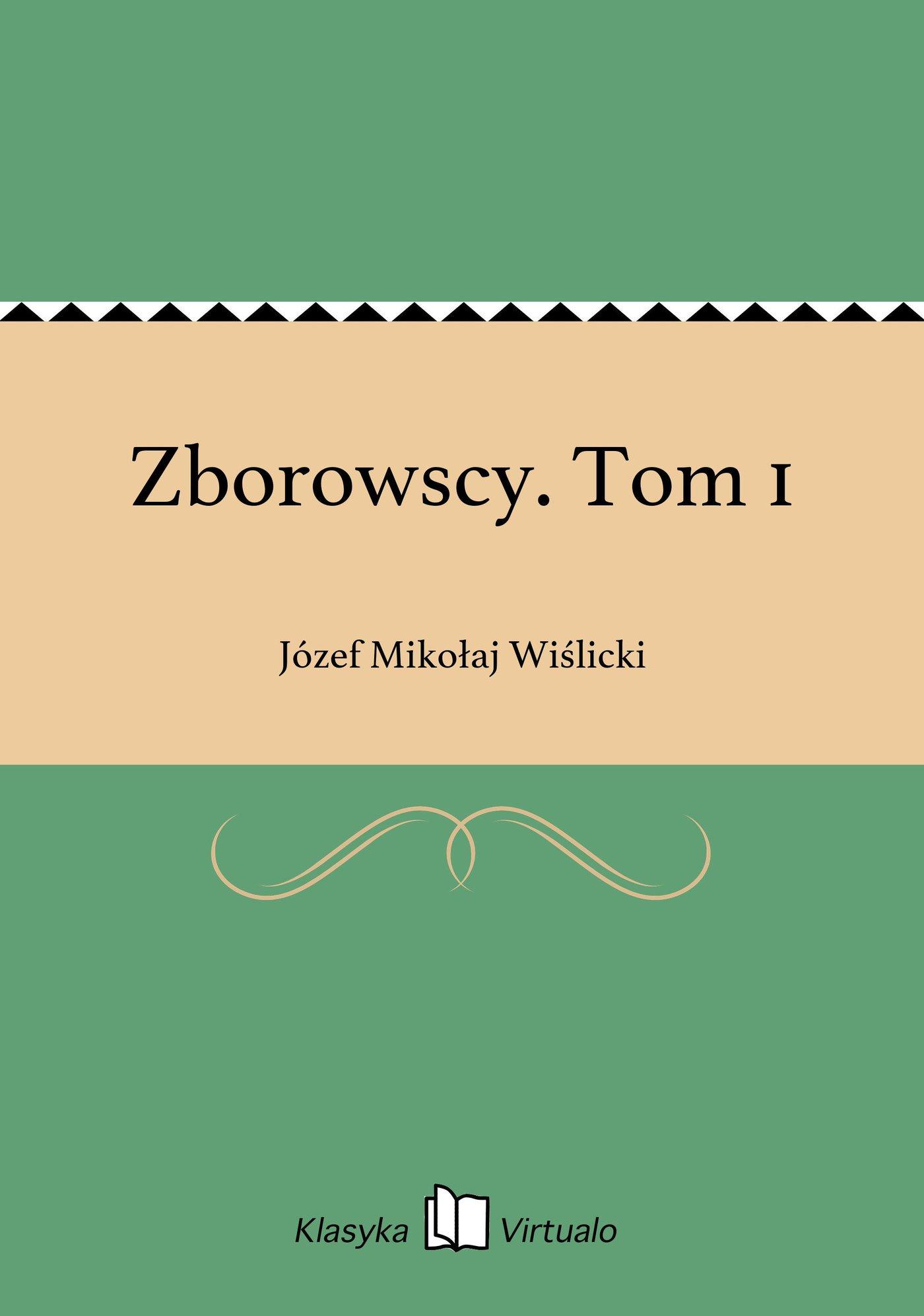 Zborowscy. Tom 1 - Ebook (Książka EPUB) do pobrania w formacie EPUB