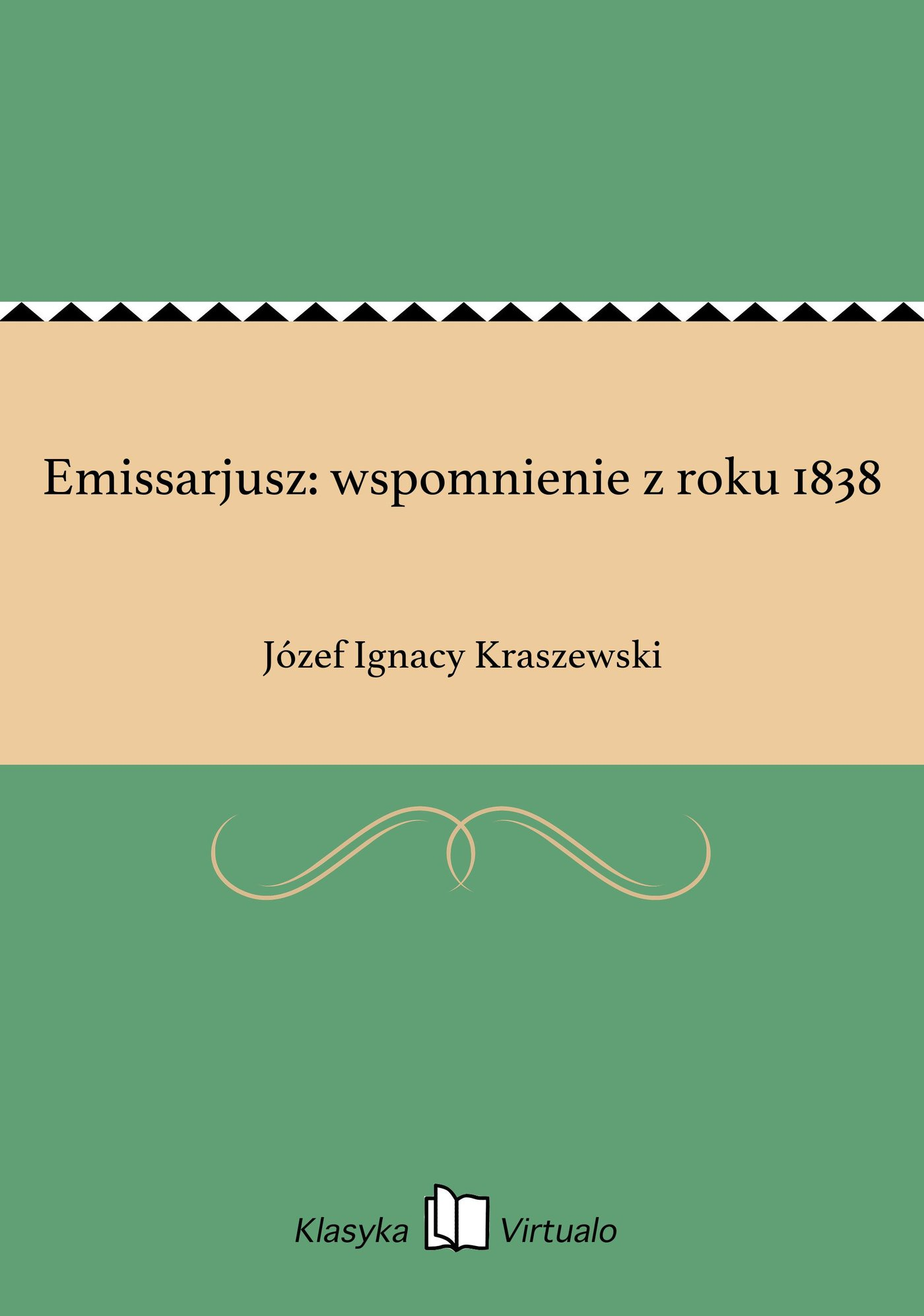 Emissarjusz: wspomnienie z roku 1838 - Ebook (Książka EPUB) do pobrania w formacie EPUB