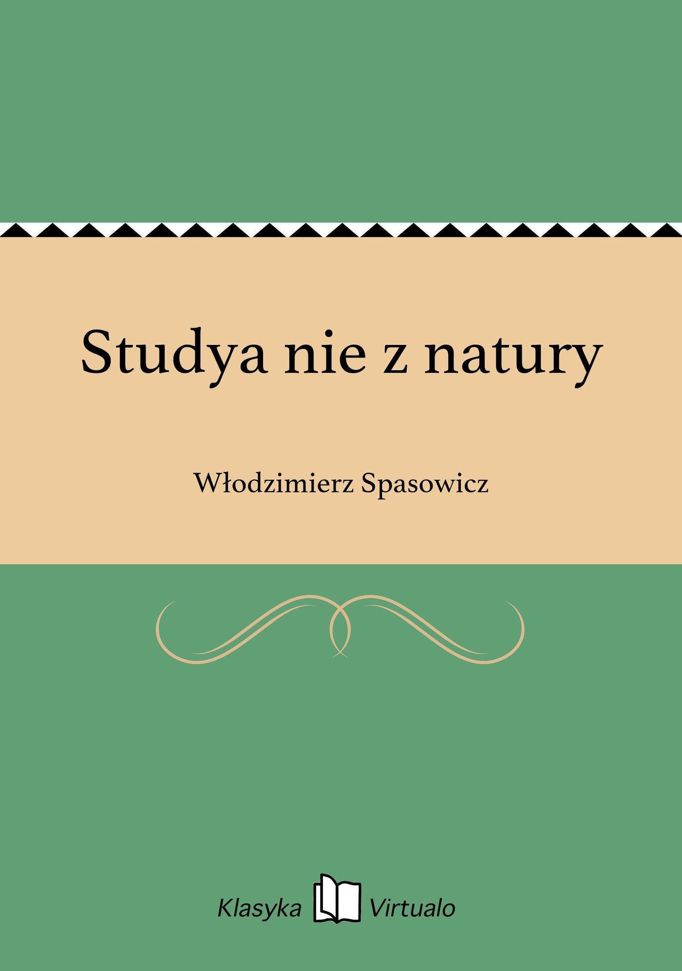 Studya nie z natury - Ebook (Książka EPUB) do pobrania w formacie EPUB
