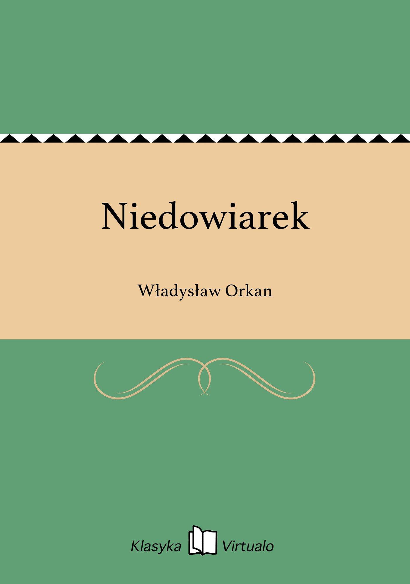 Niedowiarek - Ebook (Książka EPUB) do pobrania w formacie EPUB