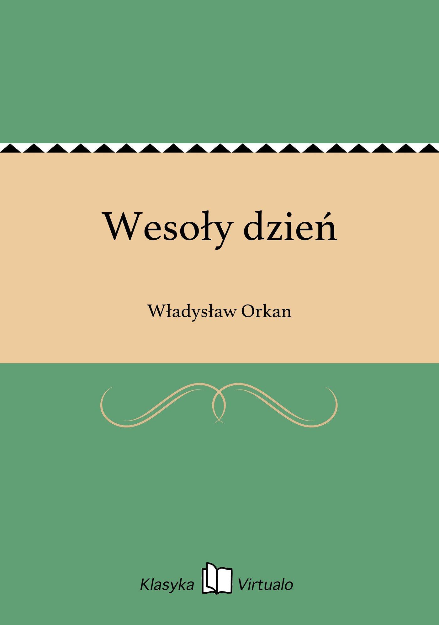 Wesoły dzień - Ebook (Książka EPUB) do pobrania w formacie EPUB