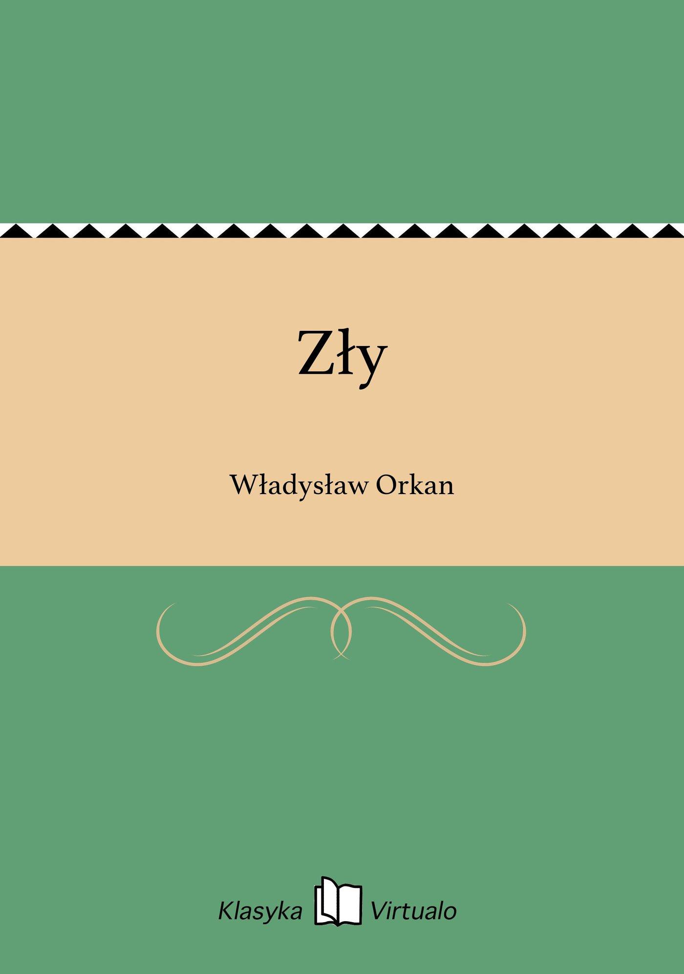 Zły - Ebook (Książka EPUB) do pobrania w formacie EPUB