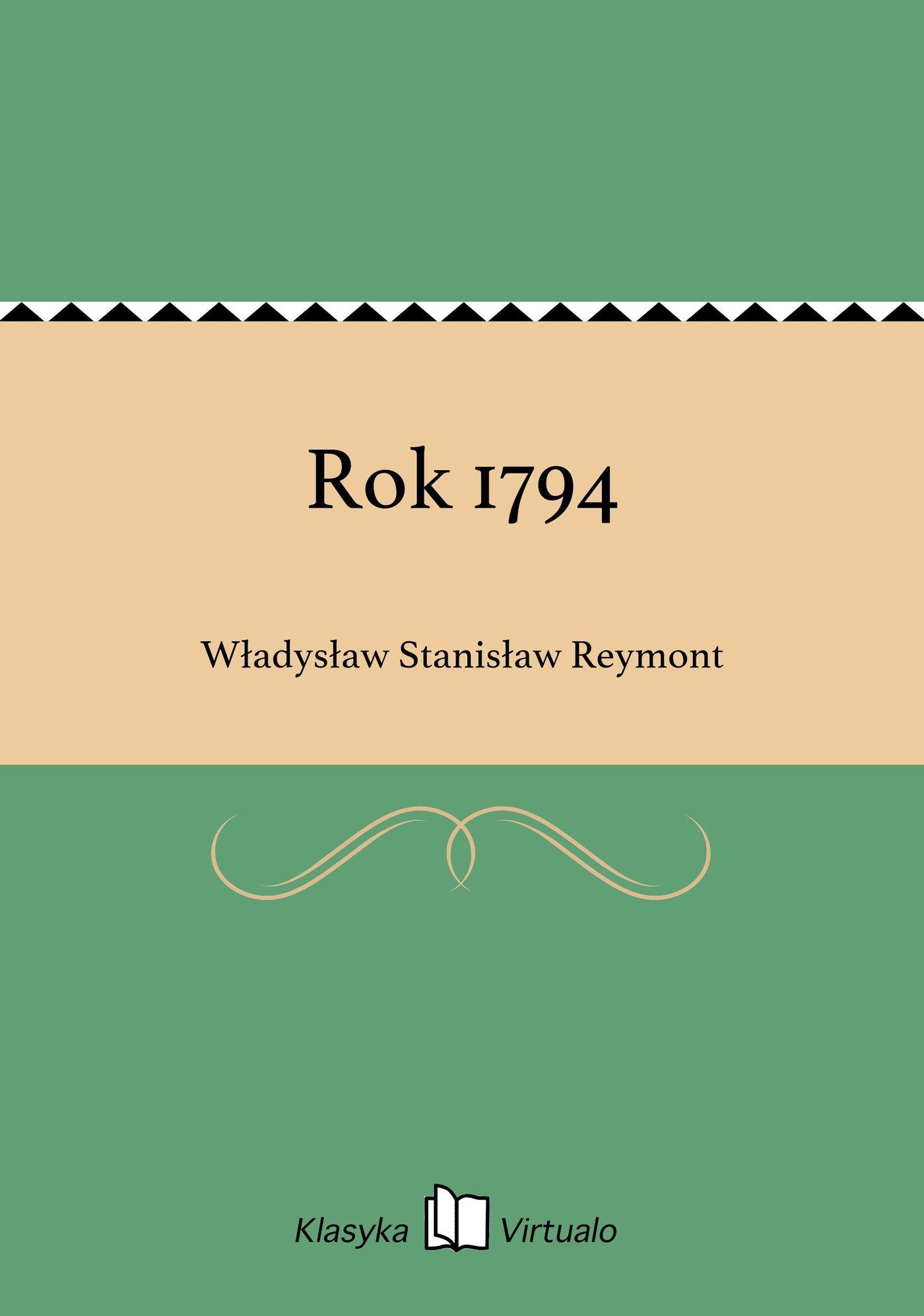 Rok 1794 - Ebook (Książka EPUB) do pobrania w formacie EPUB