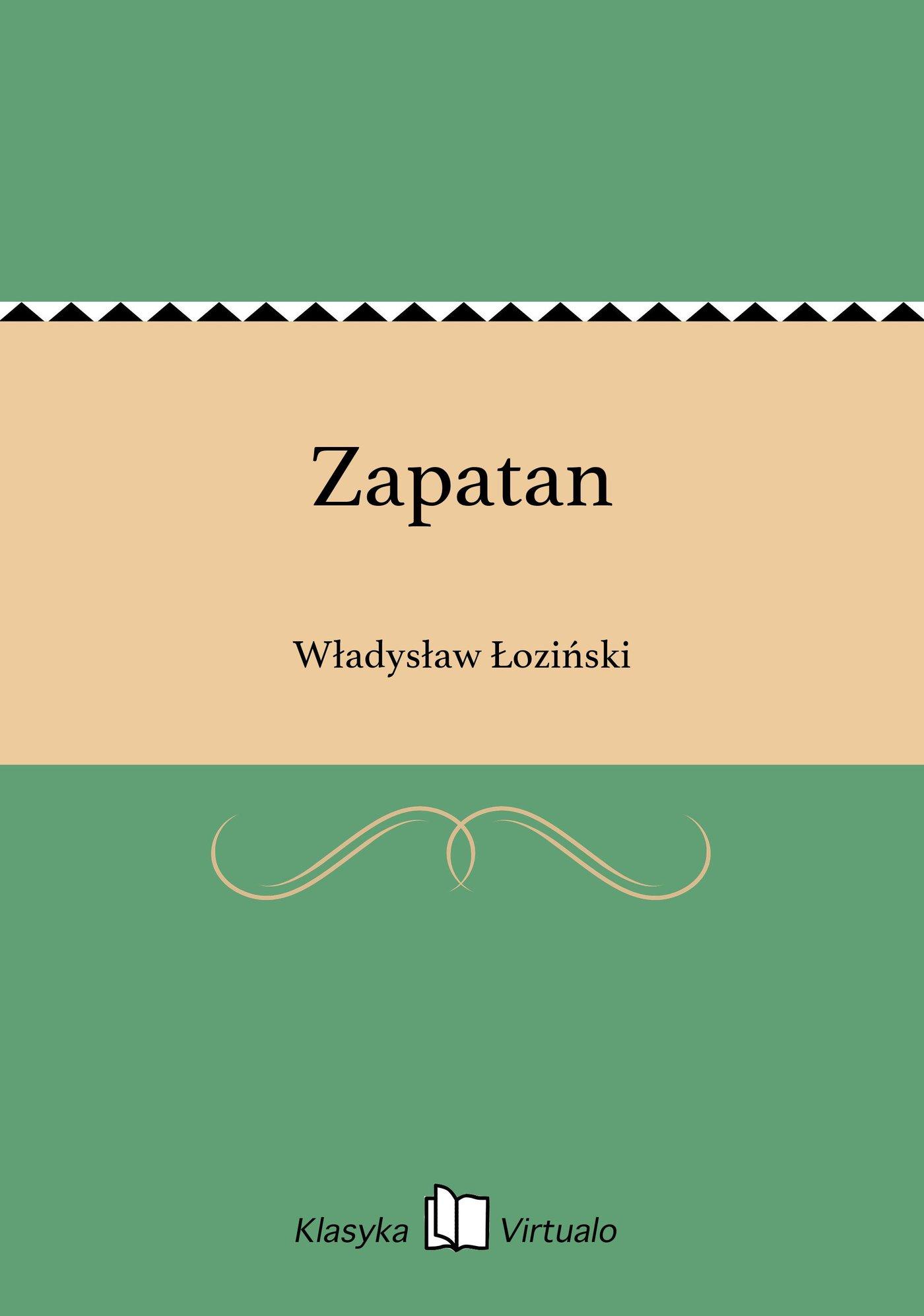 Zapatan - Ebook (Książka EPUB) do pobrania w formacie EPUB