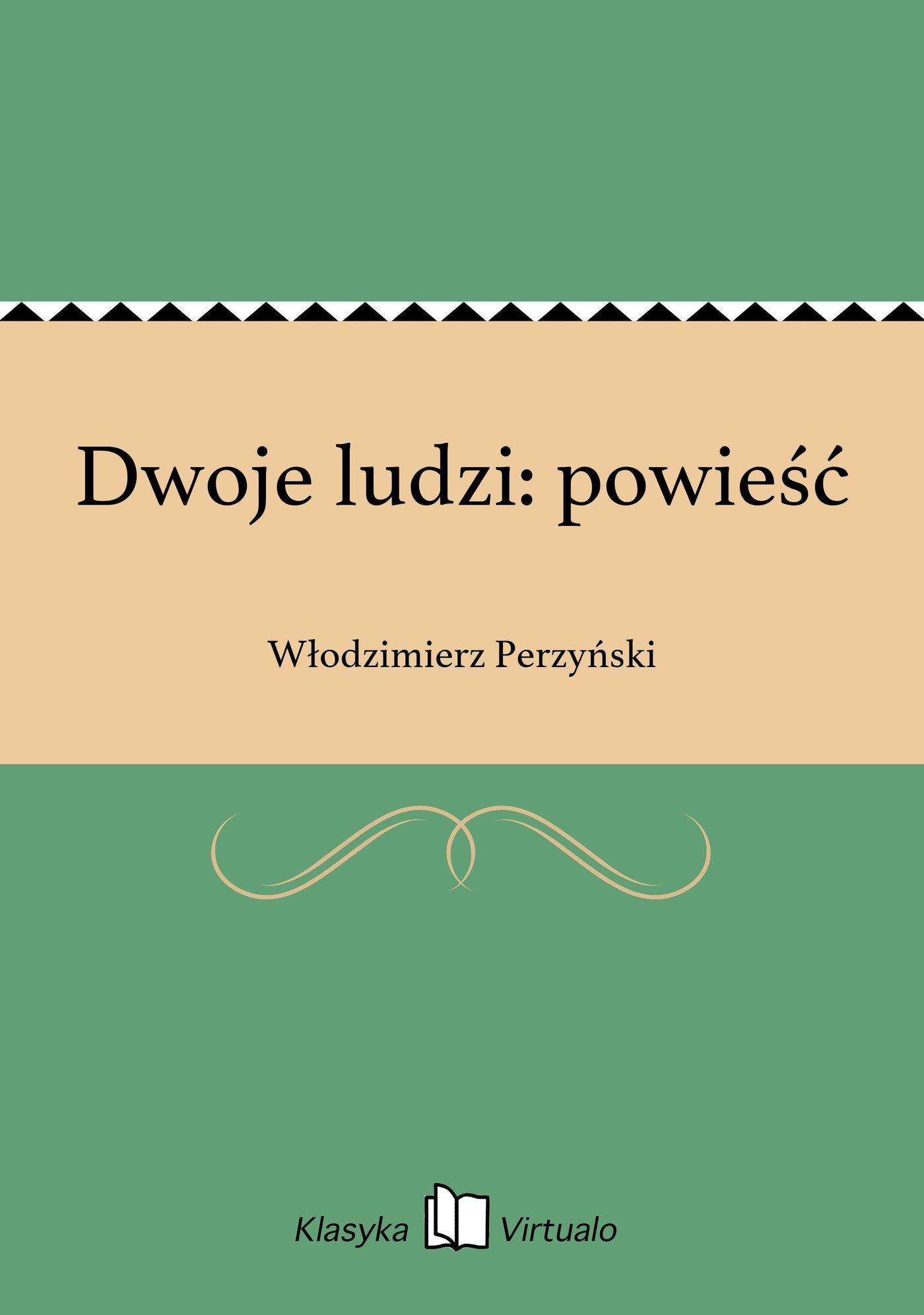 Dwoje ludzi: powieść - Ebook (Książka EPUB) do pobrania w formacie EPUB