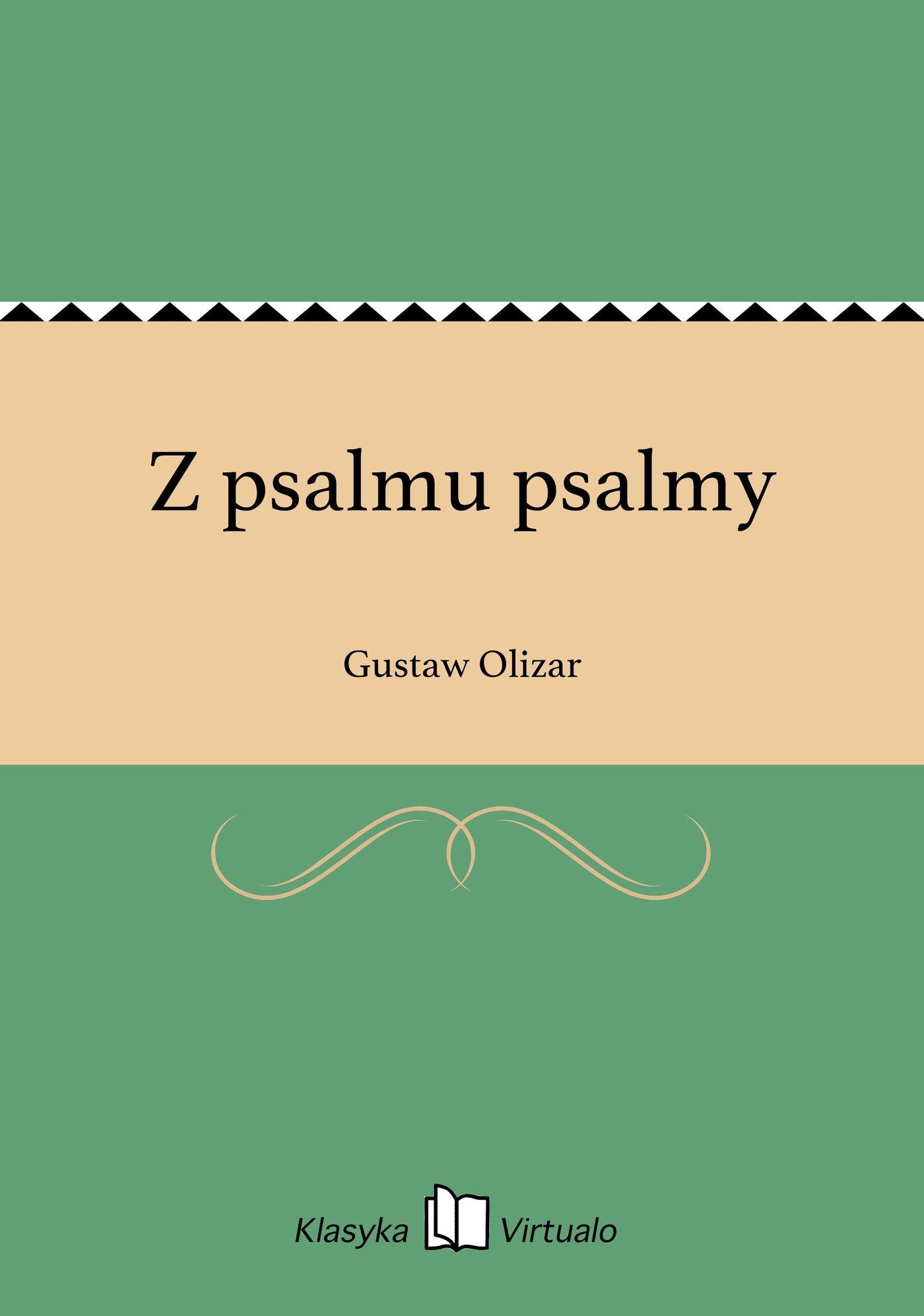 Z psalmu psalmy - Ebook (Książka EPUB) do pobrania w formacie EPUB
