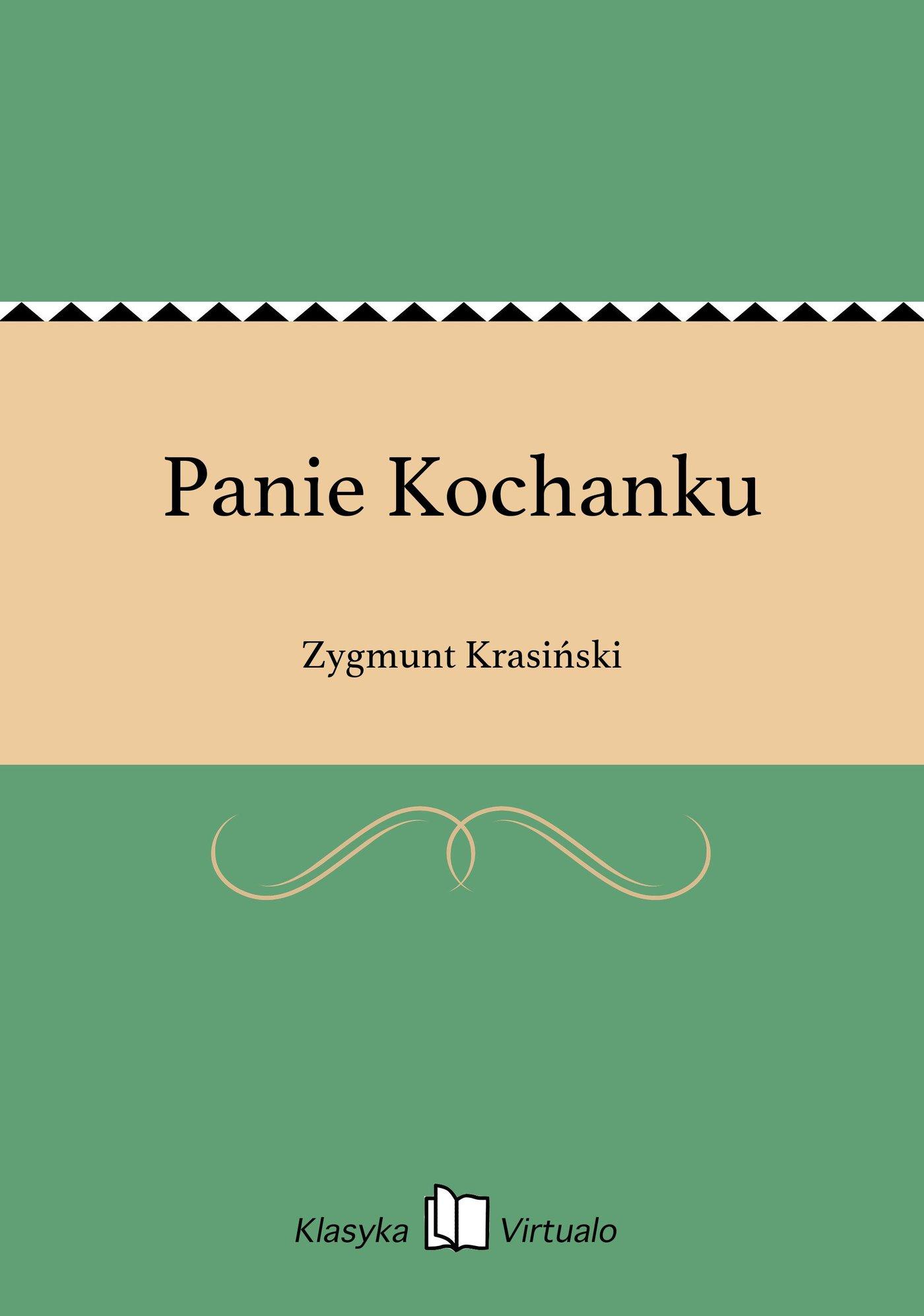 Panie Kochanku - Ebook (Książka EPUB) do pobrania w formacie EPUB