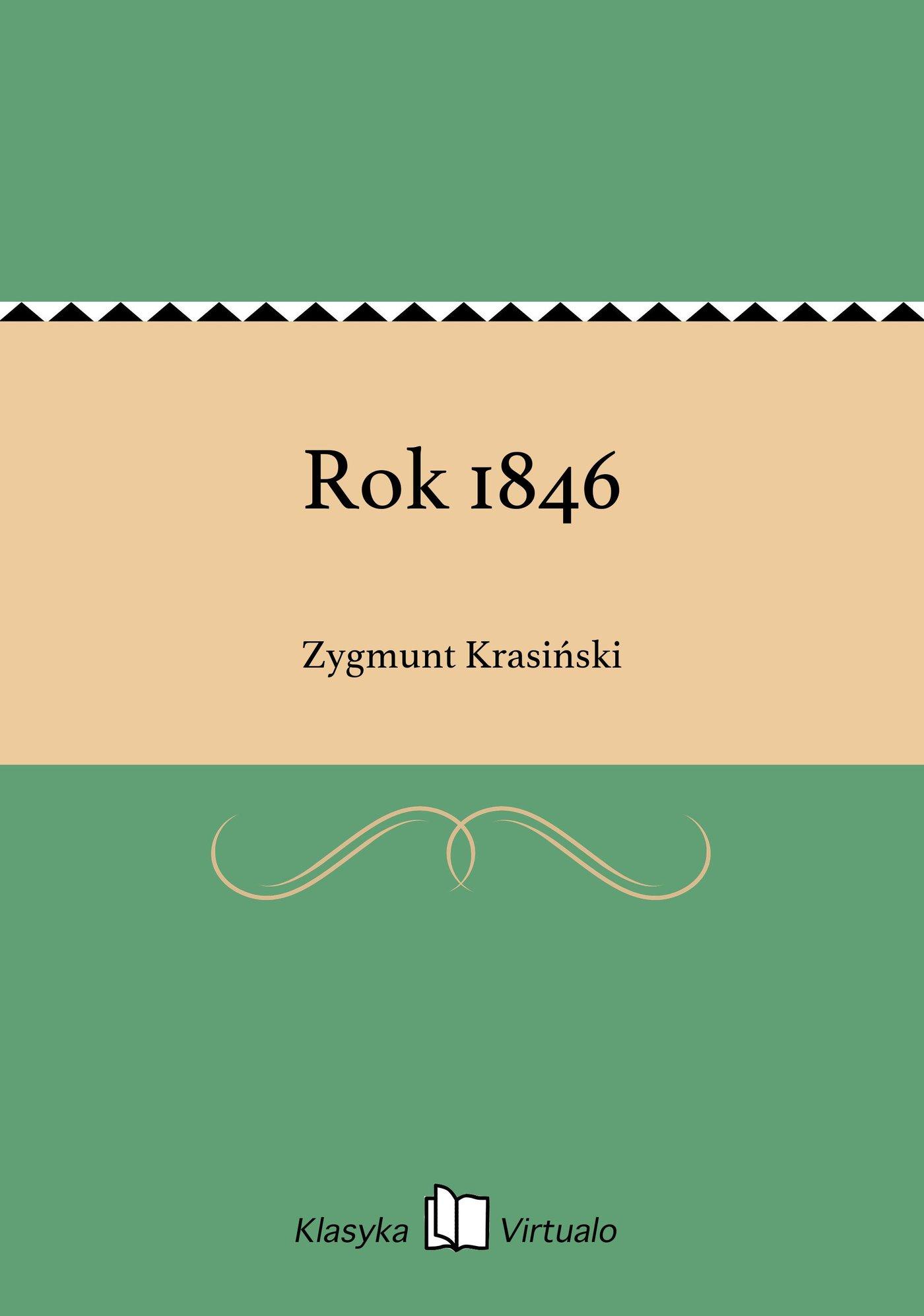 Rok 1846 - Ebook (Książka EPUB) do pobrania w formacie EPUB