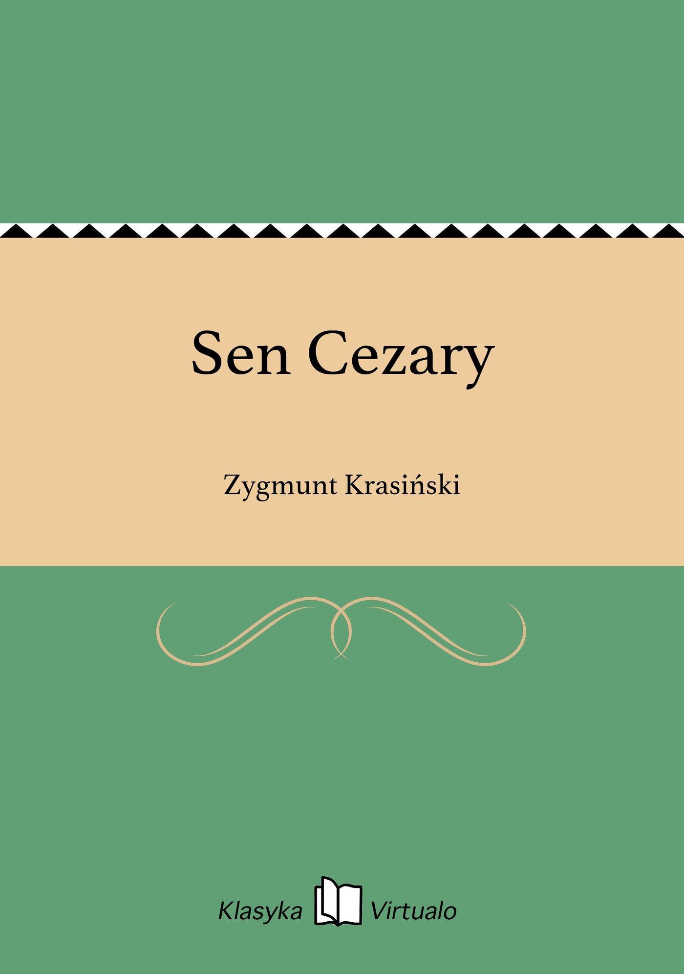 Sen Cezary - Ebook (Książka EPUB) do pobrania w formacie EPUB