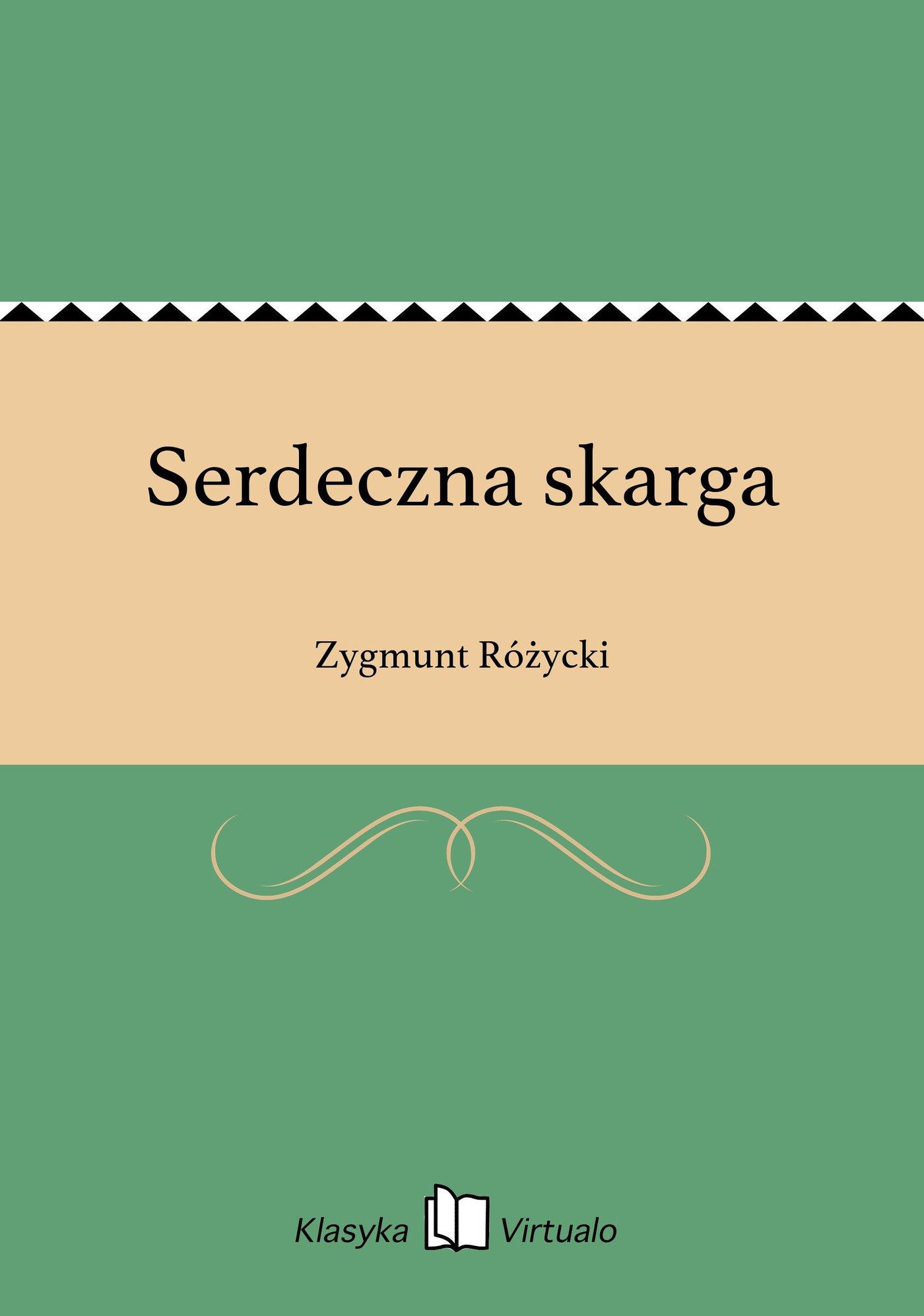 Serdeczna skarga - Ebook (Książka EPUB) do pobrania w formacie EPUB