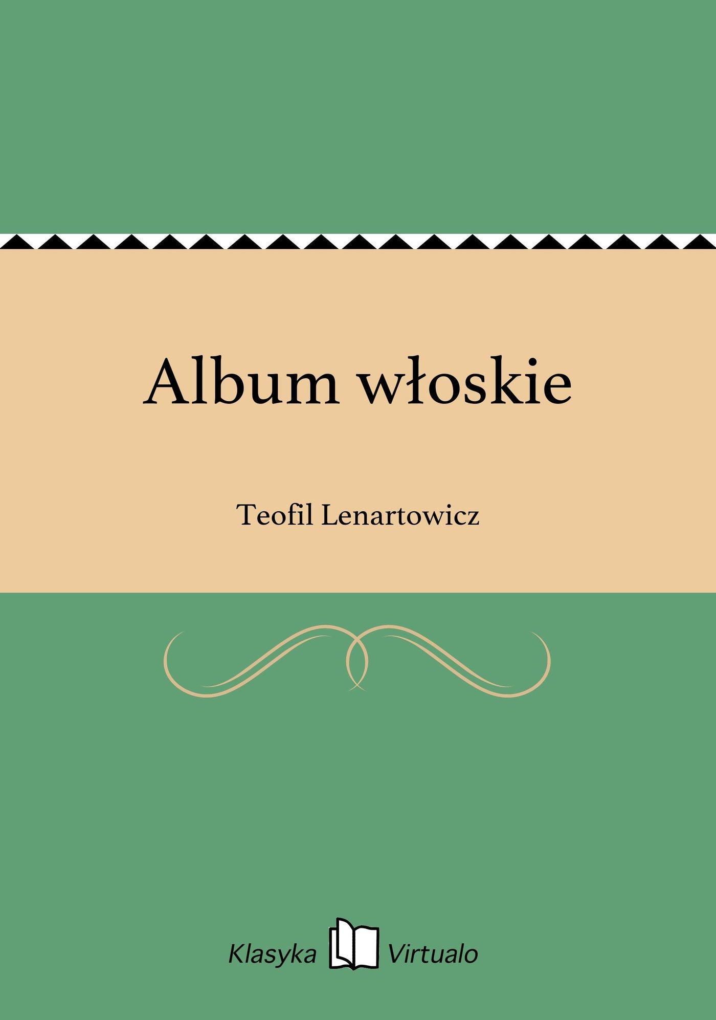 Album włoskie - Ebook (Książka EPUB) do pobrania w formacie EPUB
