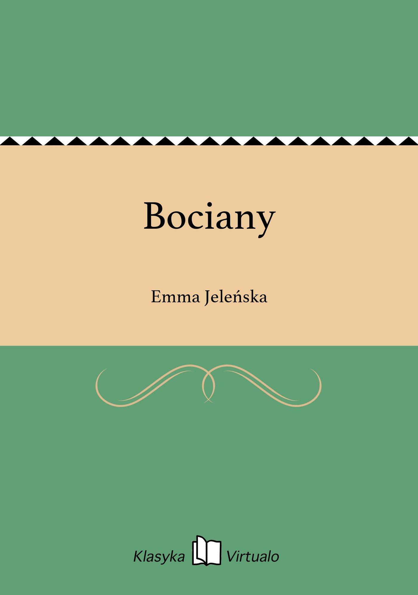 Bociany - Ebook (Książka EPUB) do pobrania w formacie EPUB