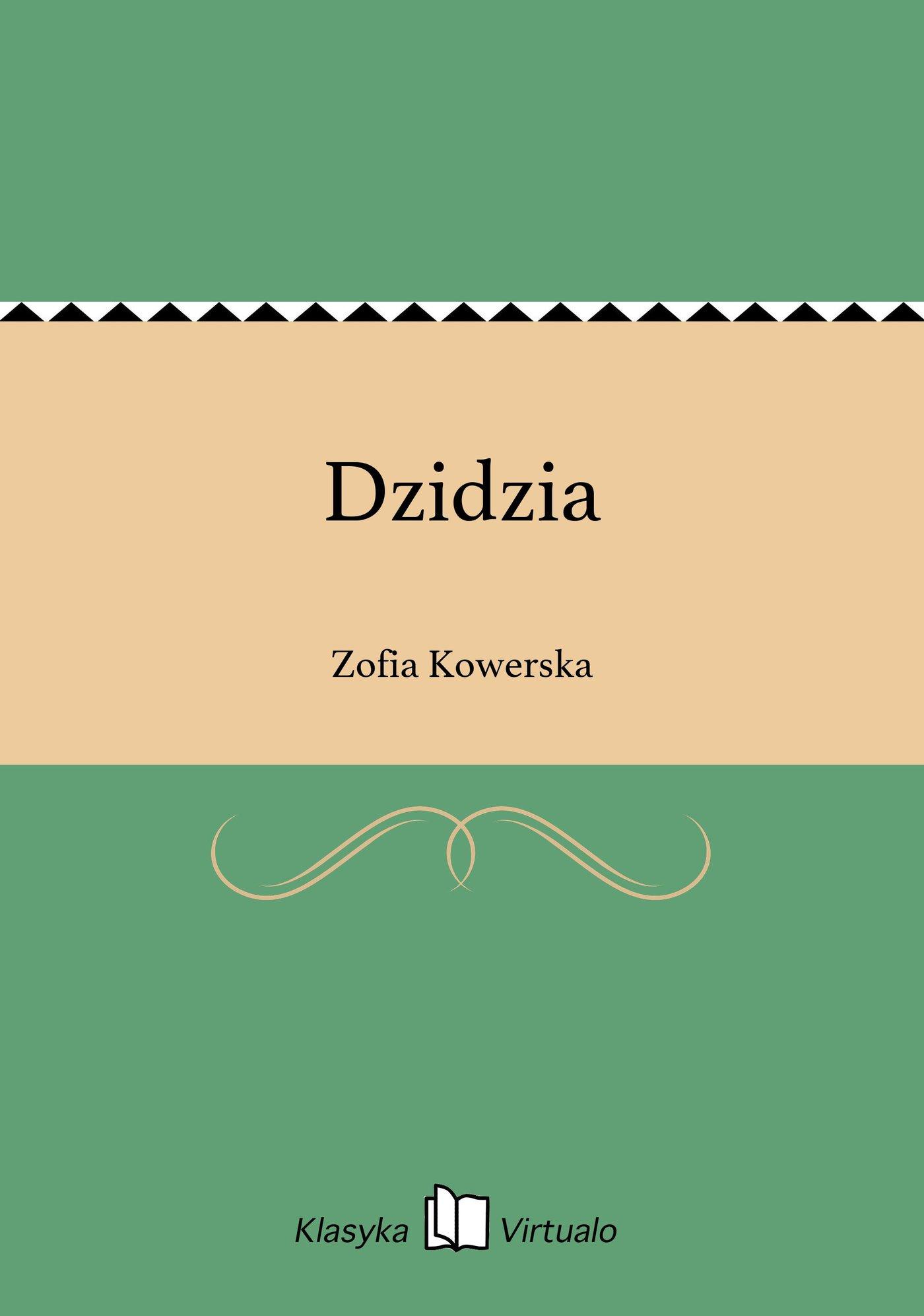 Dzidzia - Ebook (Książka EPUB) do pobrania w formacie EPUB