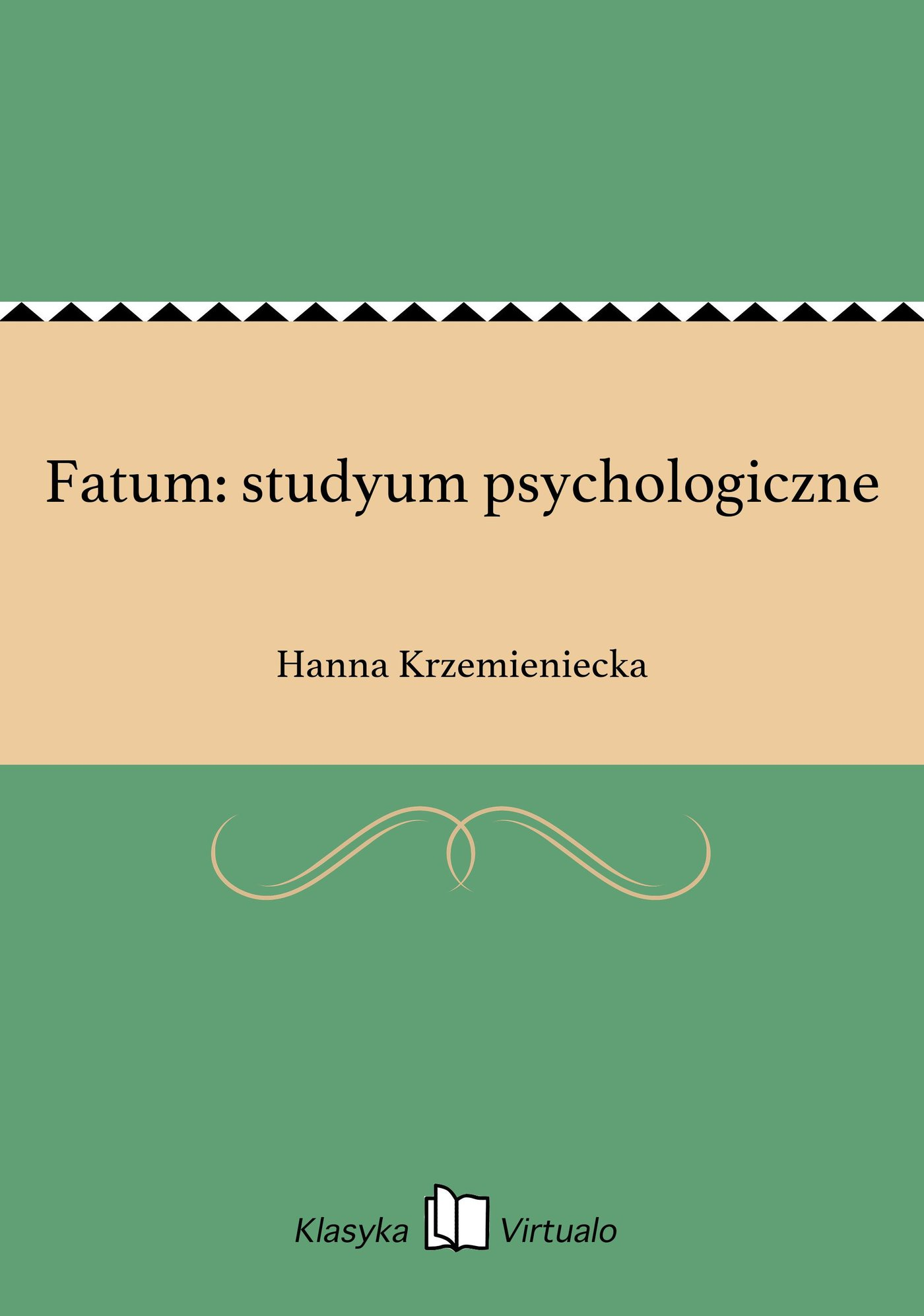 Fatum: studyum psychologiczne - Ebook (Książka EPUB) do pobrania w formacie EPUB