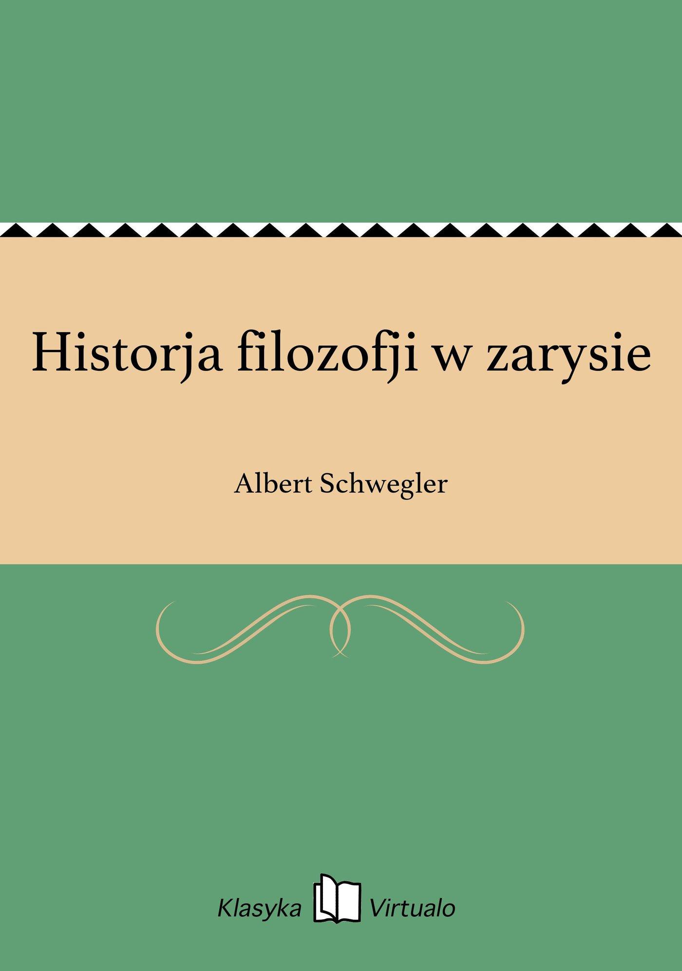 Historja filozofji w zarysie - Ebook (Książka EPUB) do pobrania w formacie EPUB