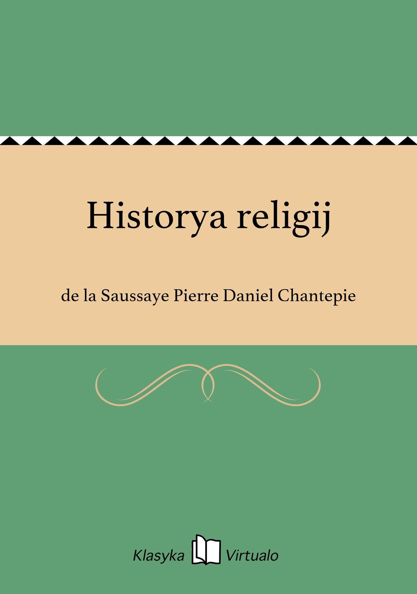 Historya religij - Ebook (Książka EPUB) do pobrania w formacie EPUB