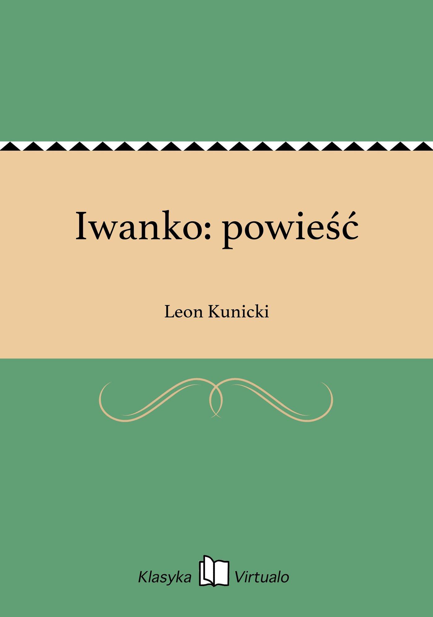 Iwanko: powieść - Ebook (Książka EPUB) do pobrania w formacie EPUB