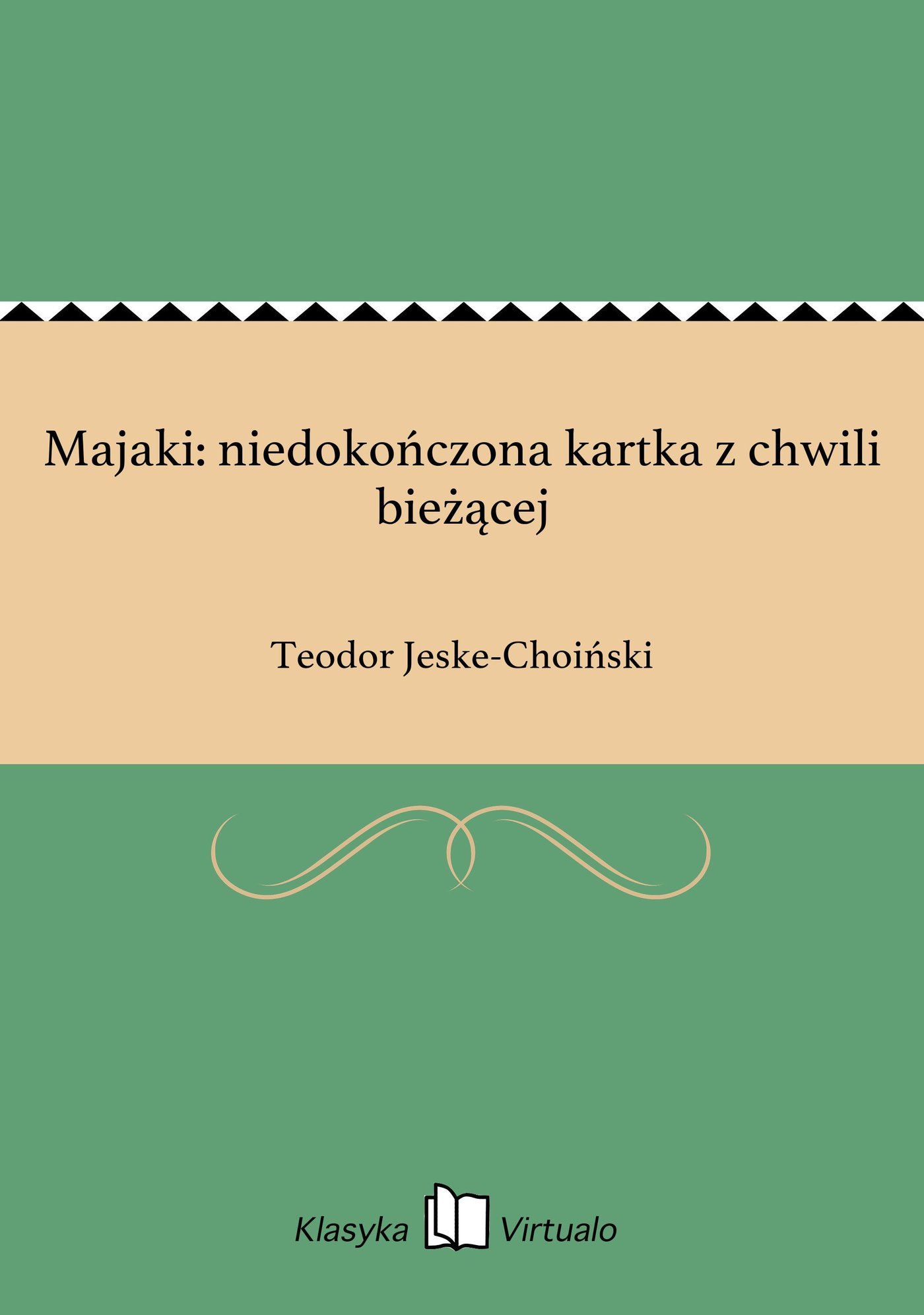 Majaki: niedokończona kartka z chwili bieżącej - Ebook (Książka EPUB) do pobrania w formacie EPUB