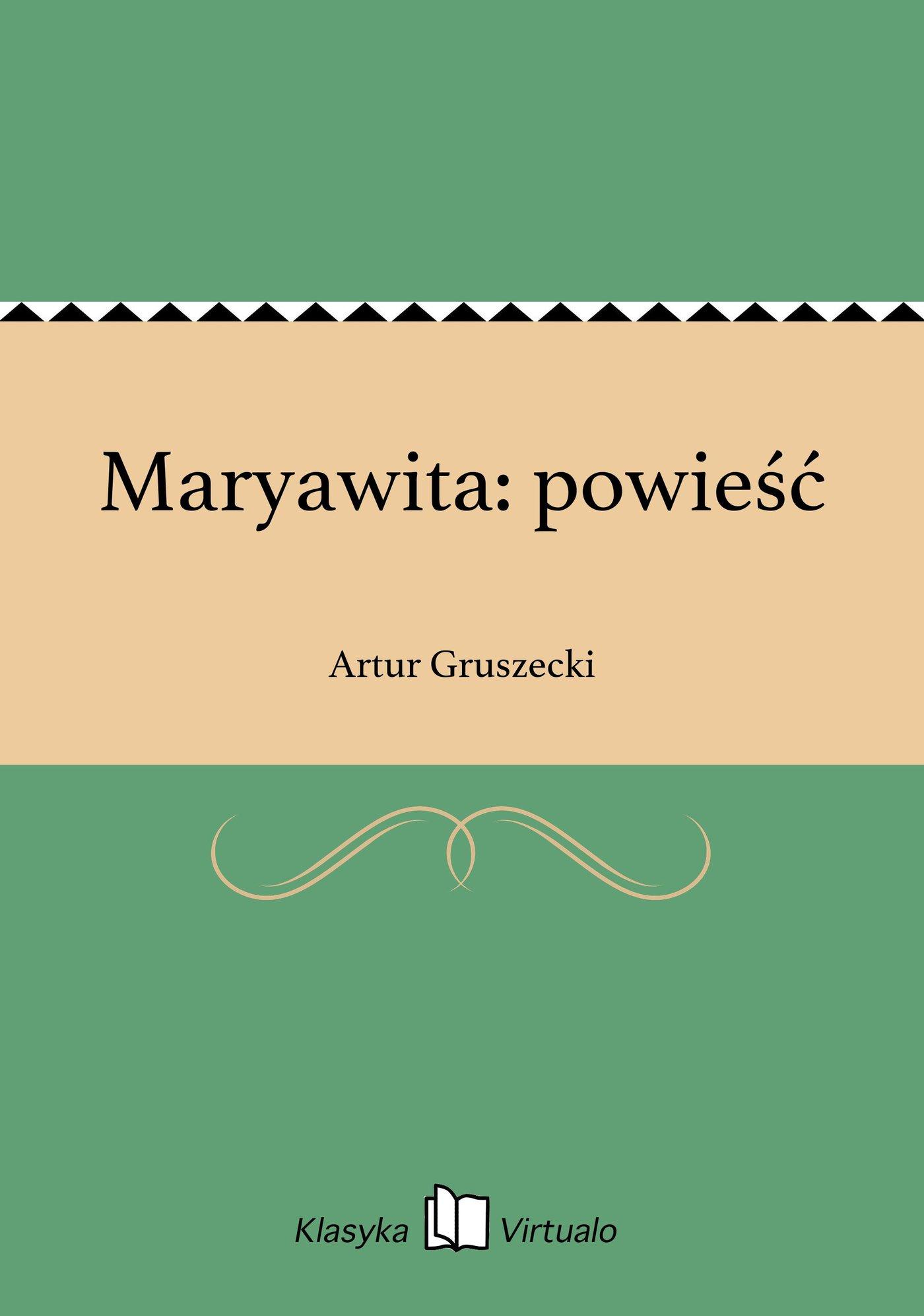 Maryawita: powieść - Ebook (Książka EPUB) do pobrania w formacie EPUB