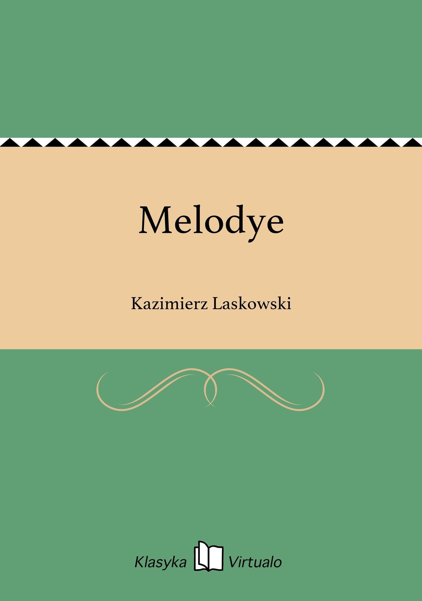 Melodye - Ebook (Książka EPUB) do pobrania w formacie EPUB