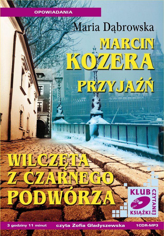 Marcin Kozera, Przyjaźń, Wilczęta z czarnego podwórza - Audiobook (Książka audio MP3) do pobrania w całości w archiwum ZIP