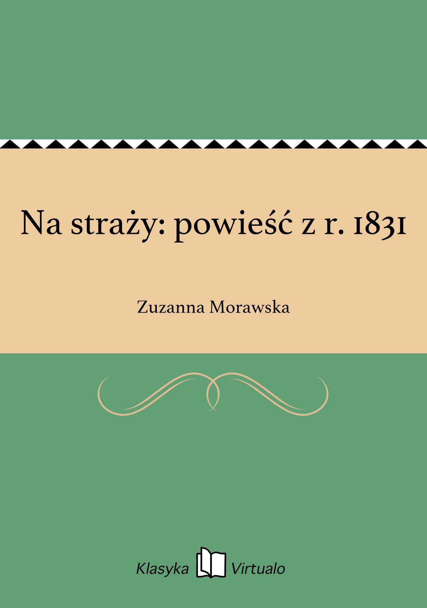 Na straży: powieść z r. 1831 - Ebook (Książka EPUB) do pobrania w formacie EPUB