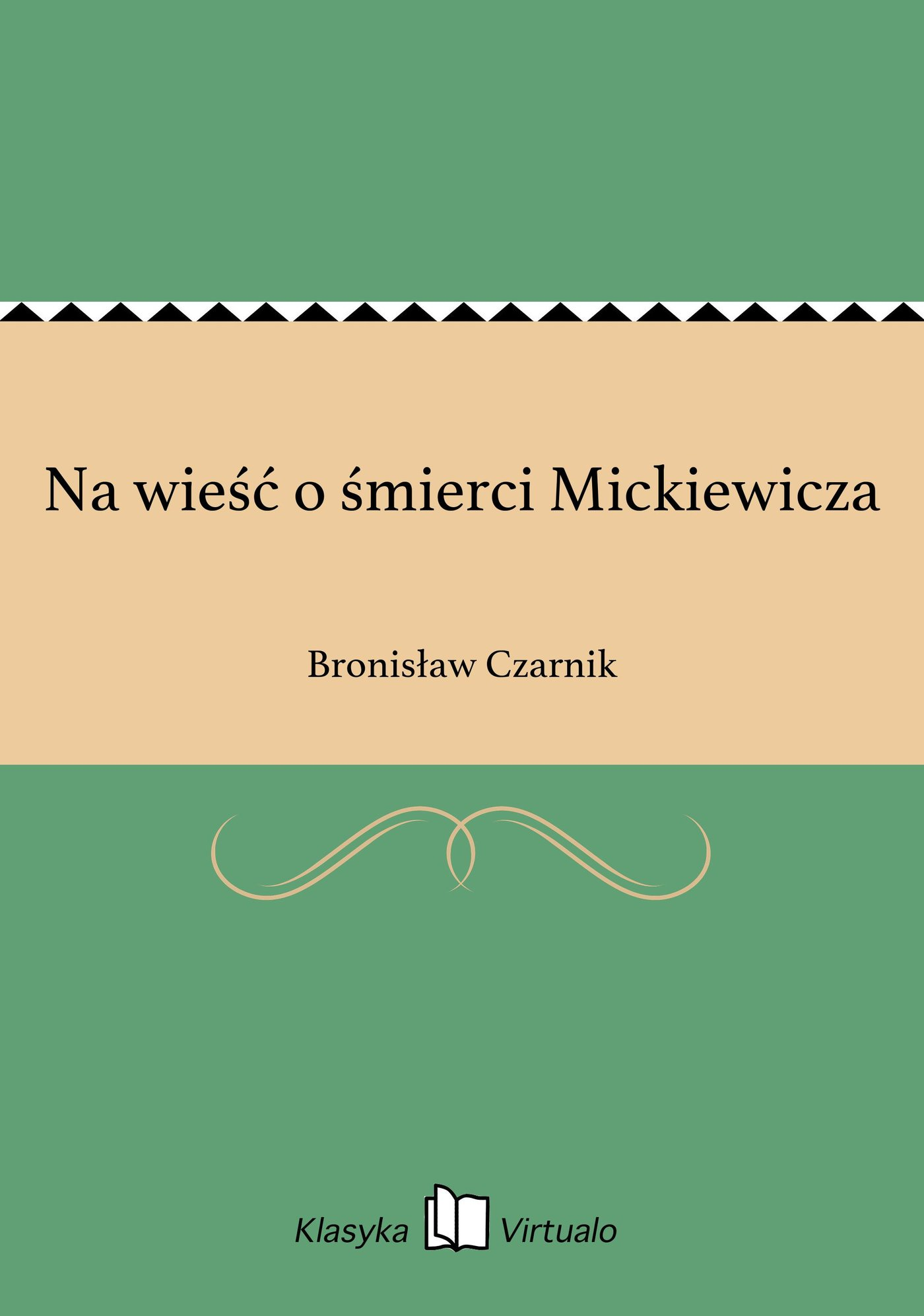 Na wieść o śmierci Mickiewicza - Ebook (Książka EPUB) do pobrania w formacie EPUB