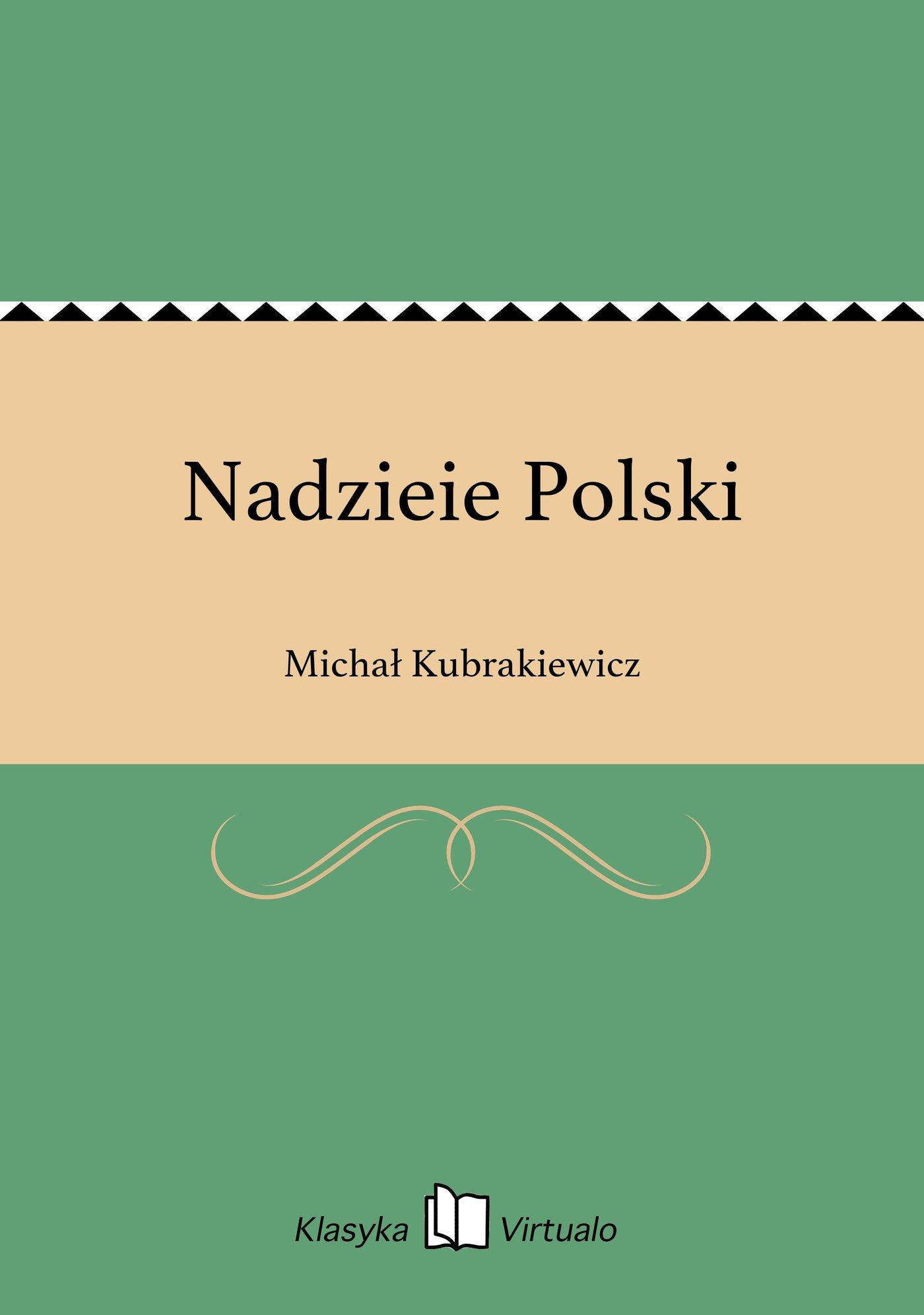 Nadzieie Polski - Ebook (Książka EPUB) do pobrania w formacie EPUB