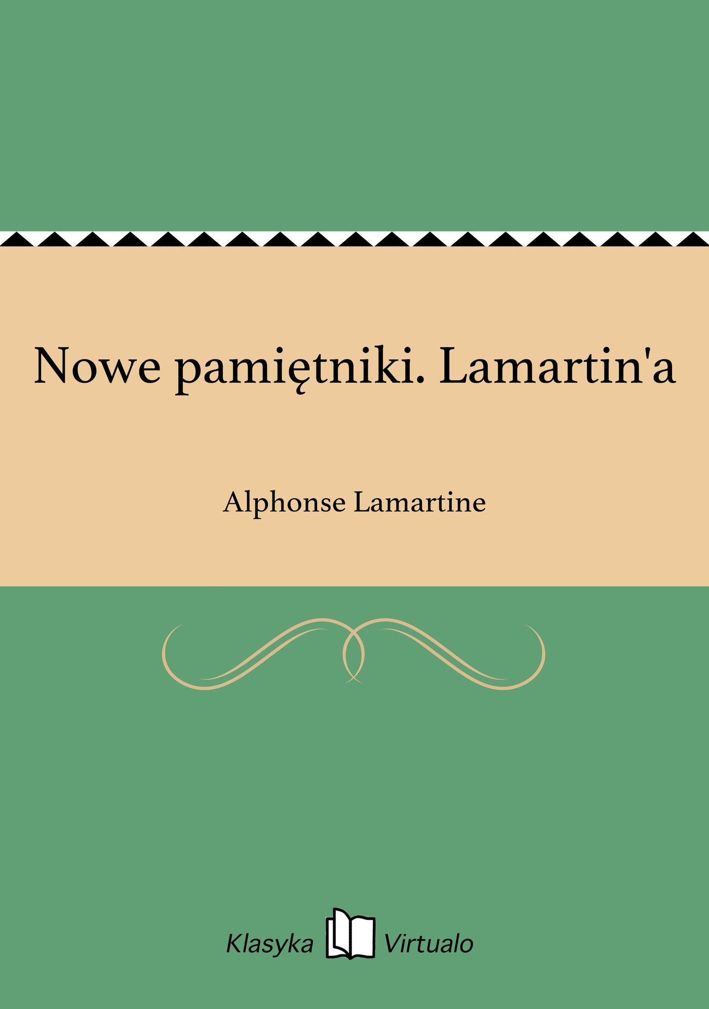 Nowe pamiętniki. Lamartin'a - Ebook (Książka EPUB) do pobrania w formacie EPUB