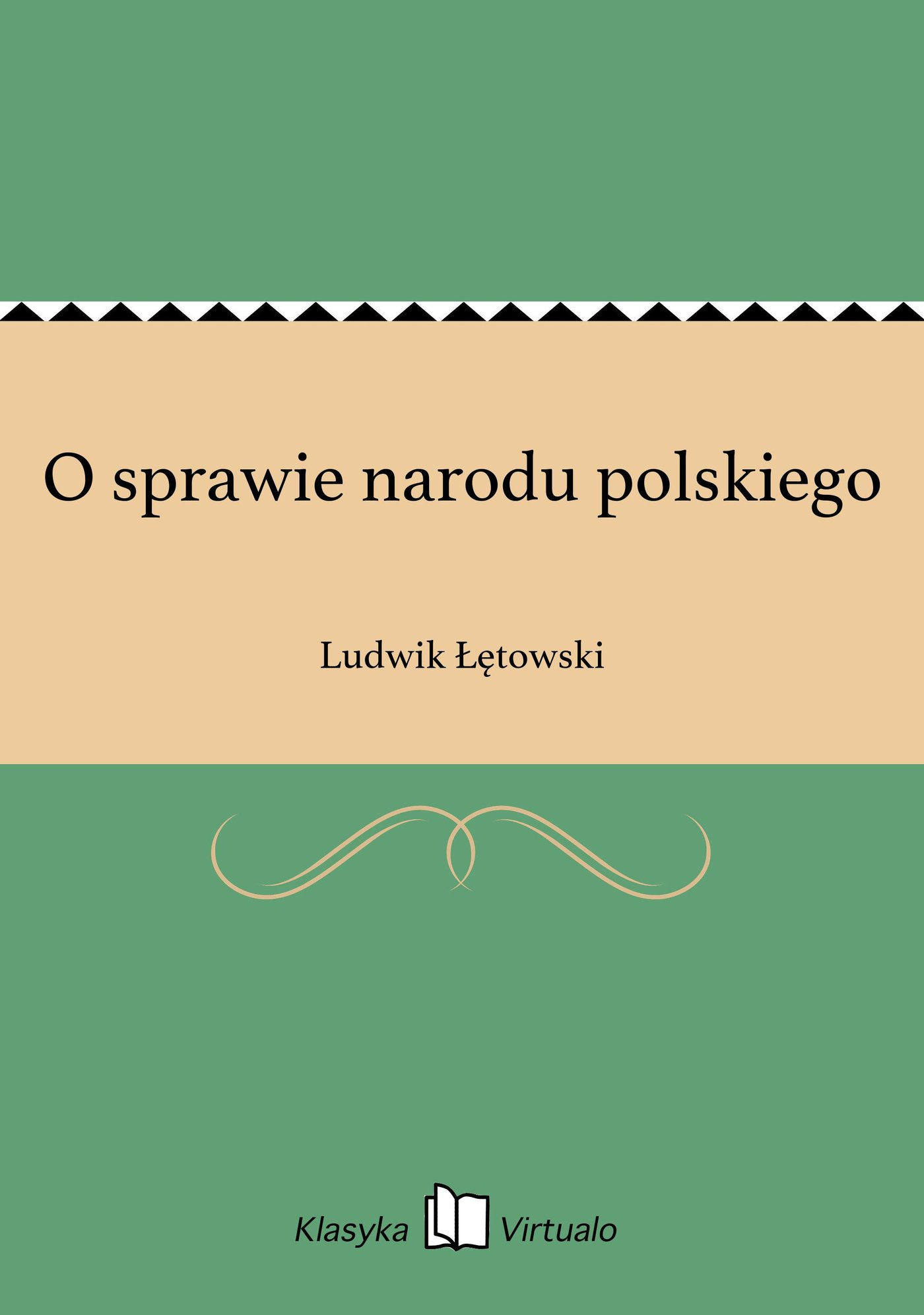 O sprawie narodu polskiego - Ebook (Książka EPUB) do pobrania w formacie EPUB