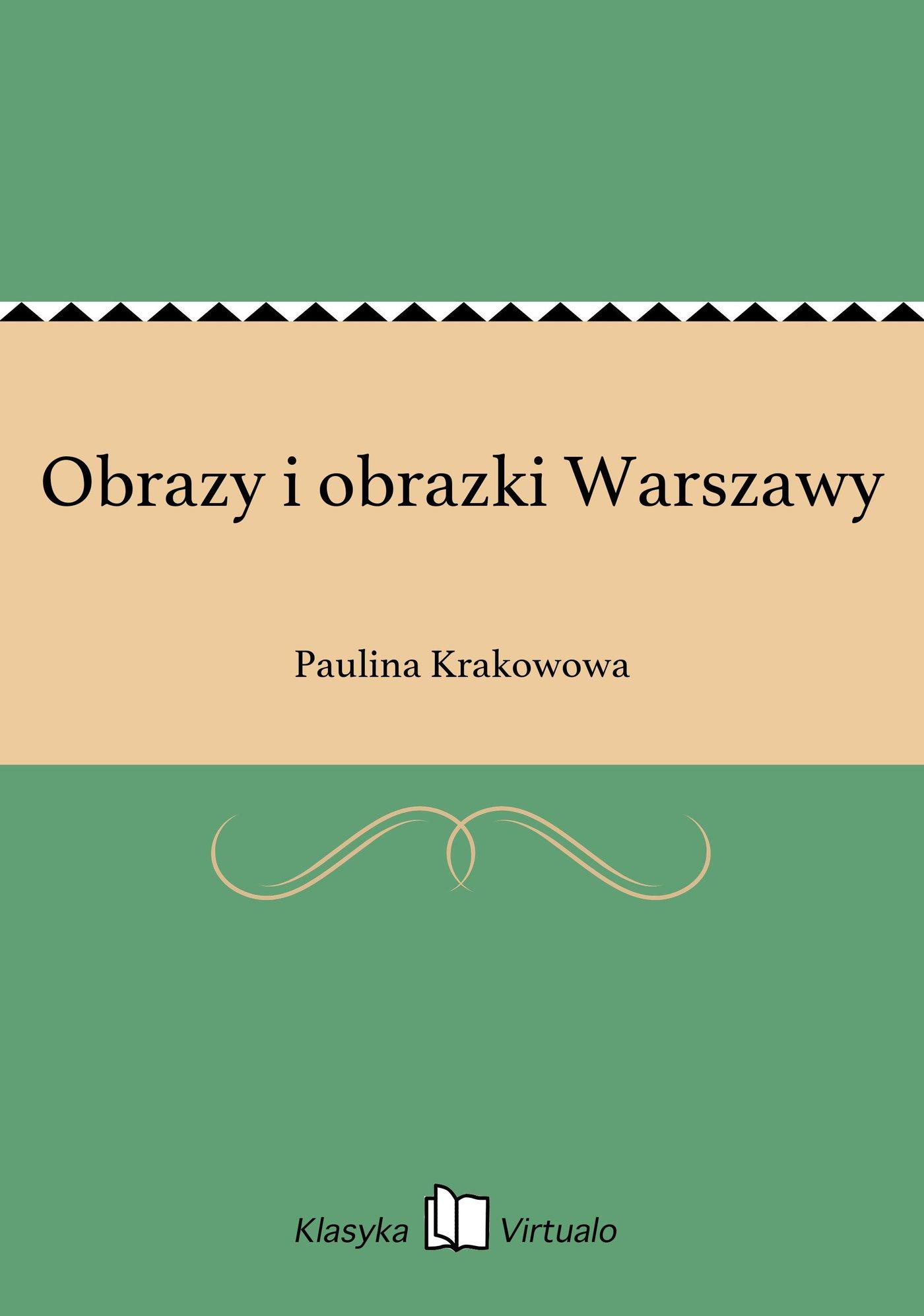 Obrazy i obrazki Warszawy - Ebook (Książka EPUB) do pobrania w formacie EPUB
