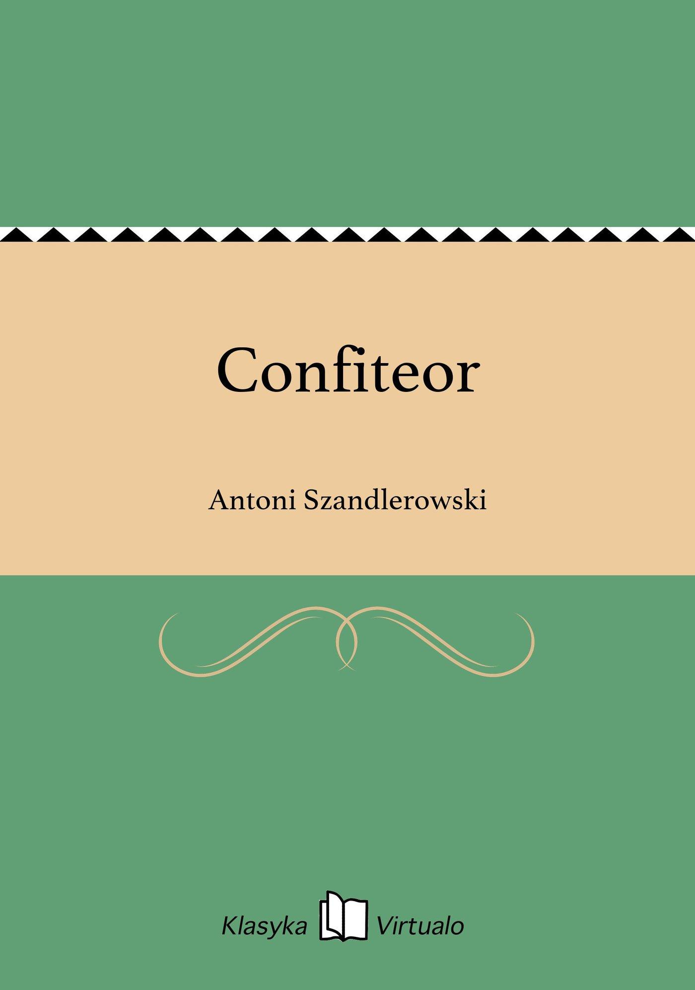 Confiteor - Ebook (Książka EPUB) do pobrania w formacie EPUB
