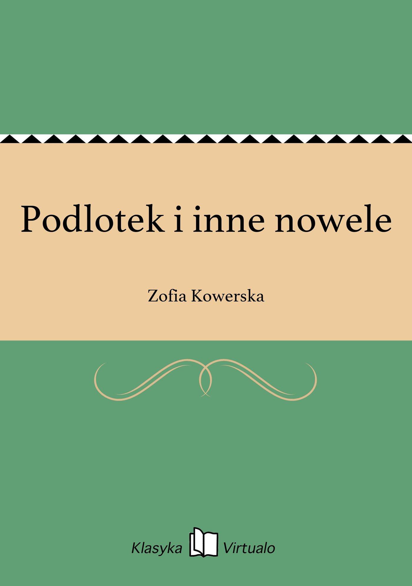 Podlotek i inne nowele - Ebook (Książka EPUB) do pobrania w formacie EPUB