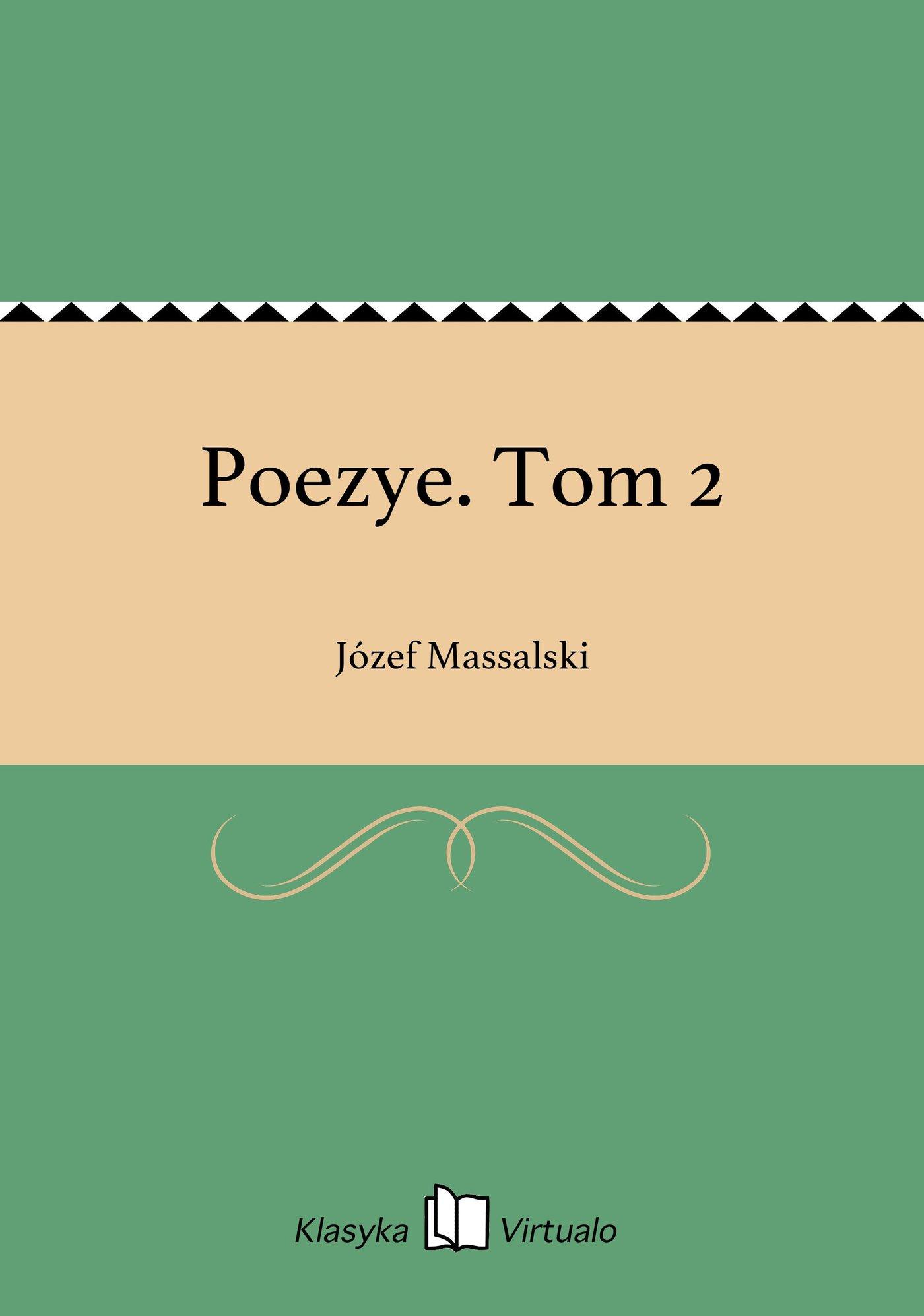 Poezye. Tom 2 - Ebook (Książka EPUB) do pobrania w formacie EPUB