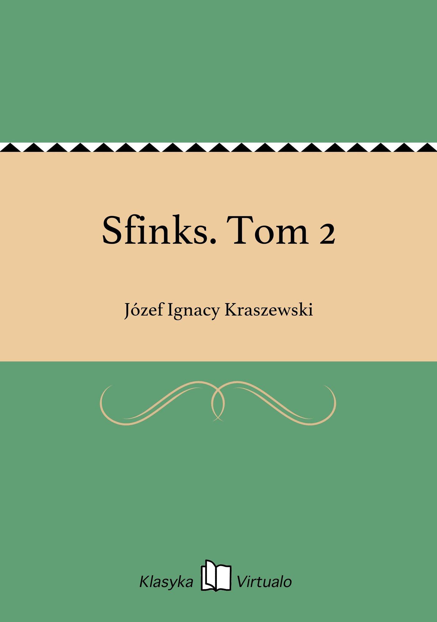 Sfinks. Tom 2 - Ebook (Książka EPUB) do pobrania w formacie EPUB
