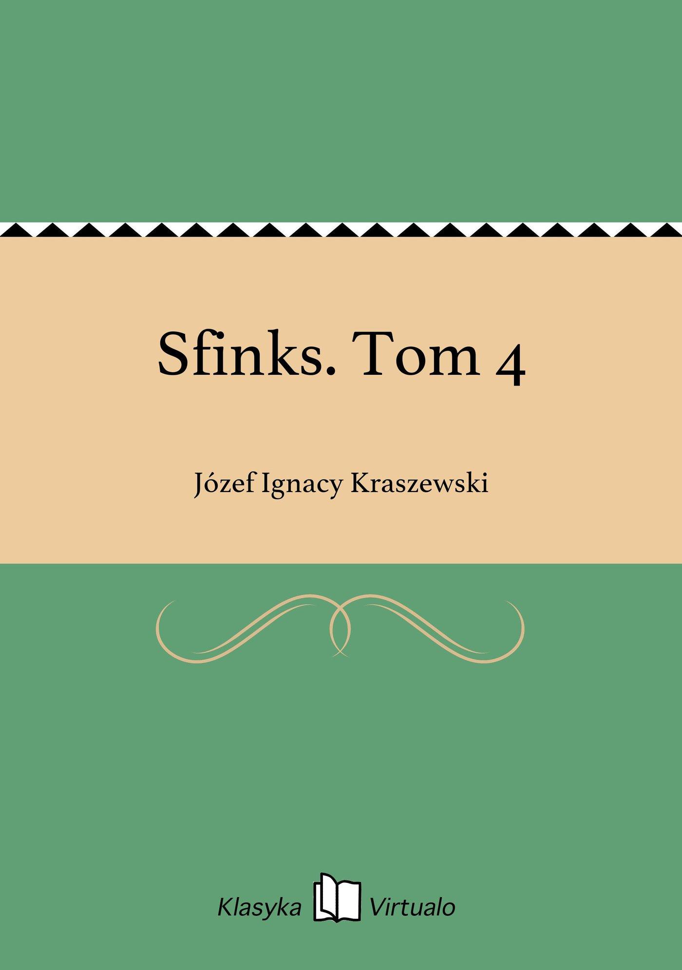 Sfinks. Tom 4 - Ebook (Książka EPUB) do pobrania w formacie EPUB