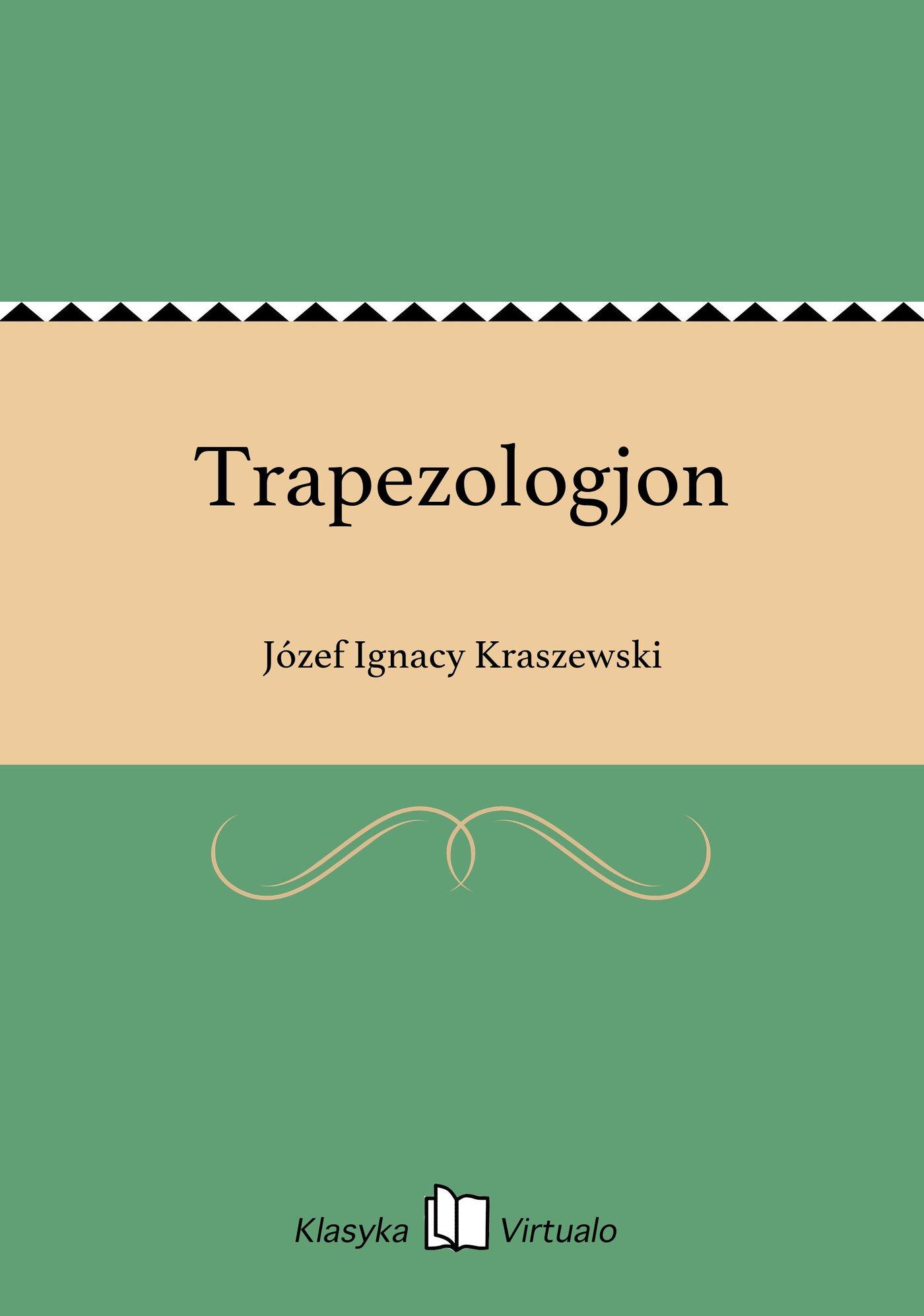 Trapezologjon - Ebook (Książka EPUB) do pobrania w formacie EPUB