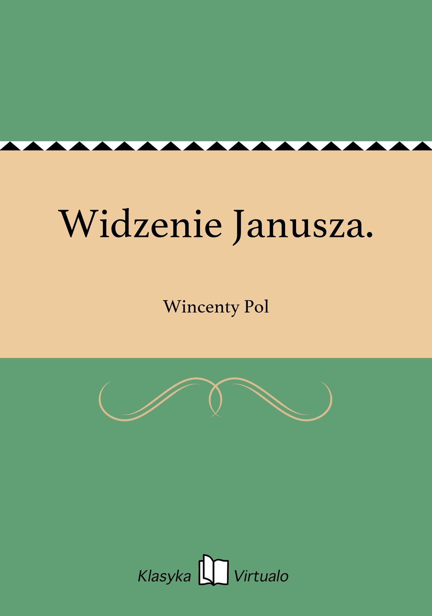 Widzenie Janusza. - Ebook (Książka EPUB) do pobrania w formacie EPUB
