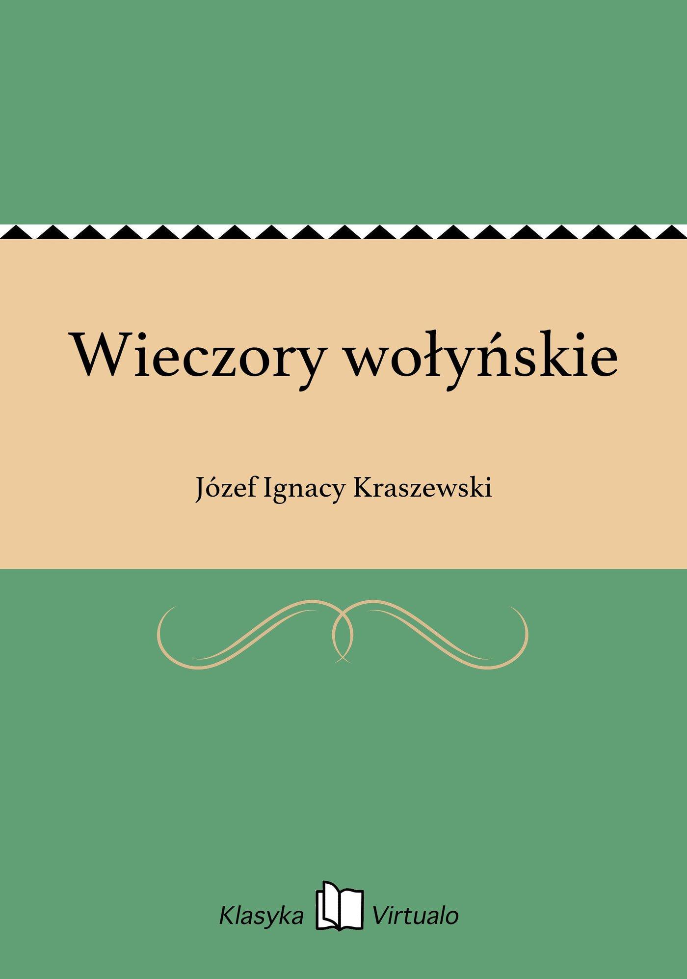 Wieczory wołyńskie - Ebook (Książka EPUB) do pobrania w formacie EPUB