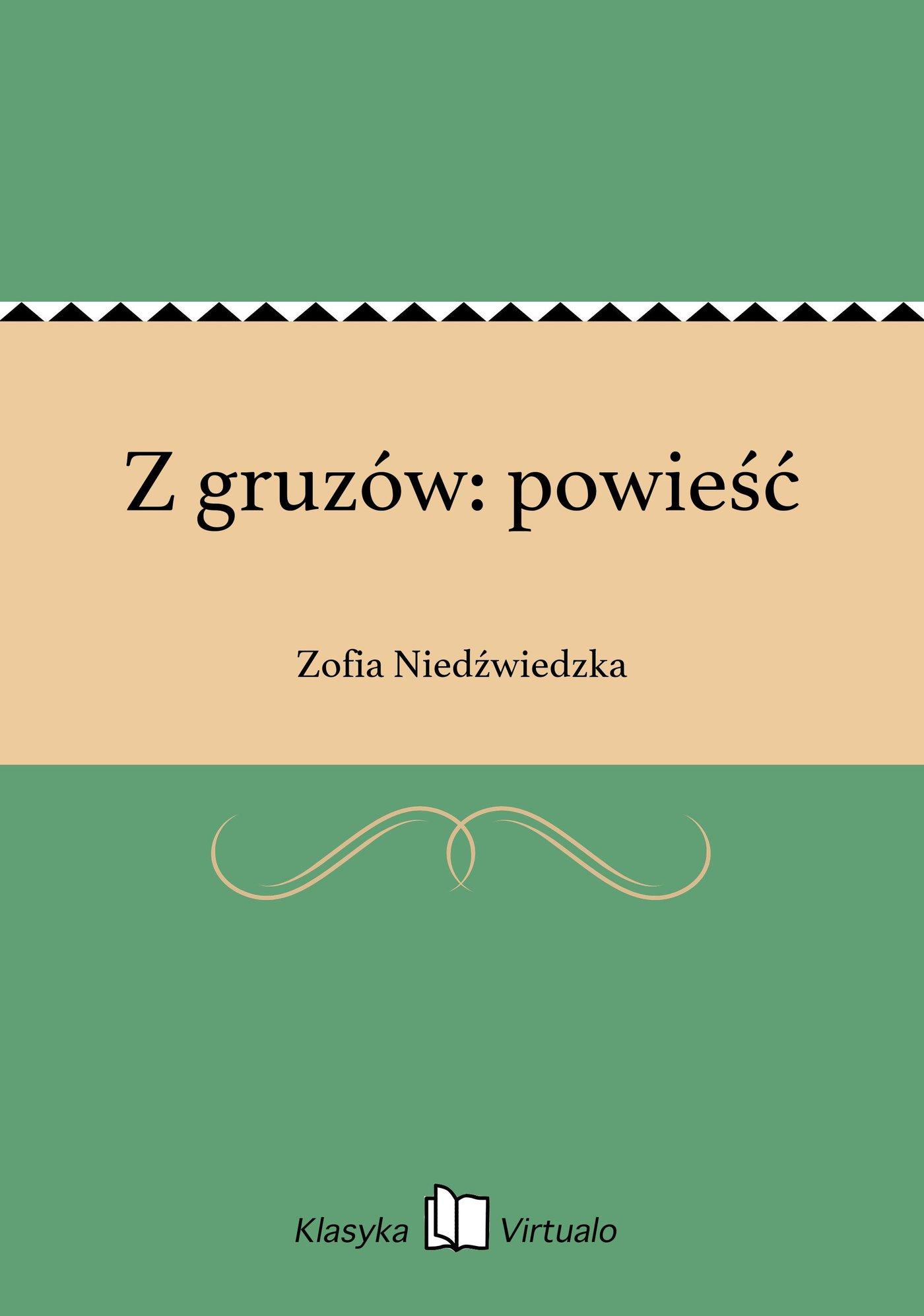 Z gruzów: powieść - Ebook (Książka EPUB) do pobrania w formacie EPUB